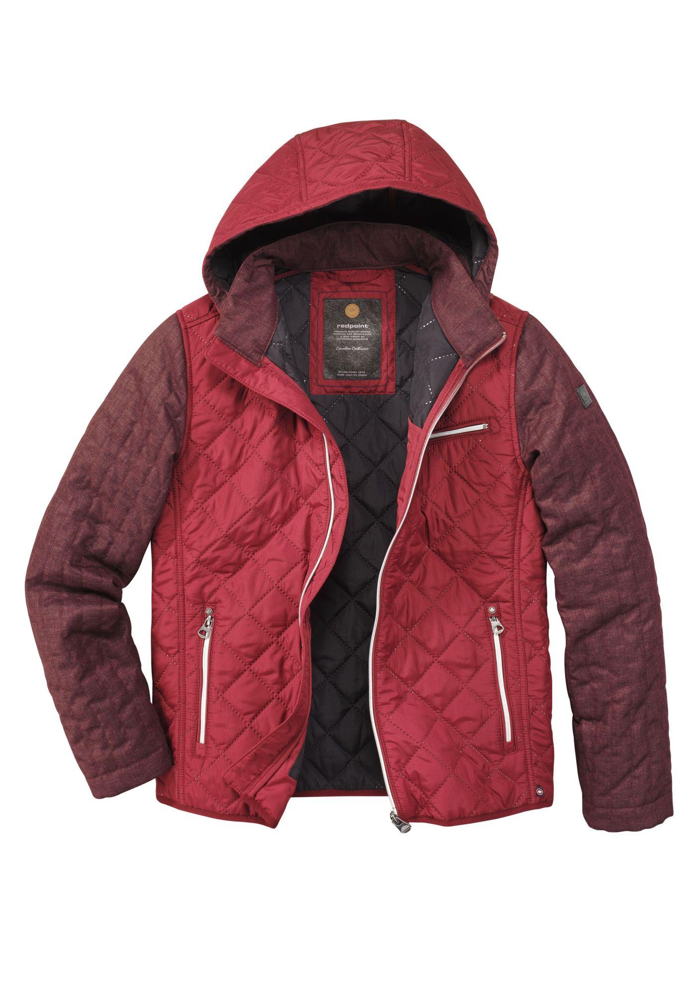 Redpoint Herren Jacke In Rot Kean R701813232000 Bei Michaelax
