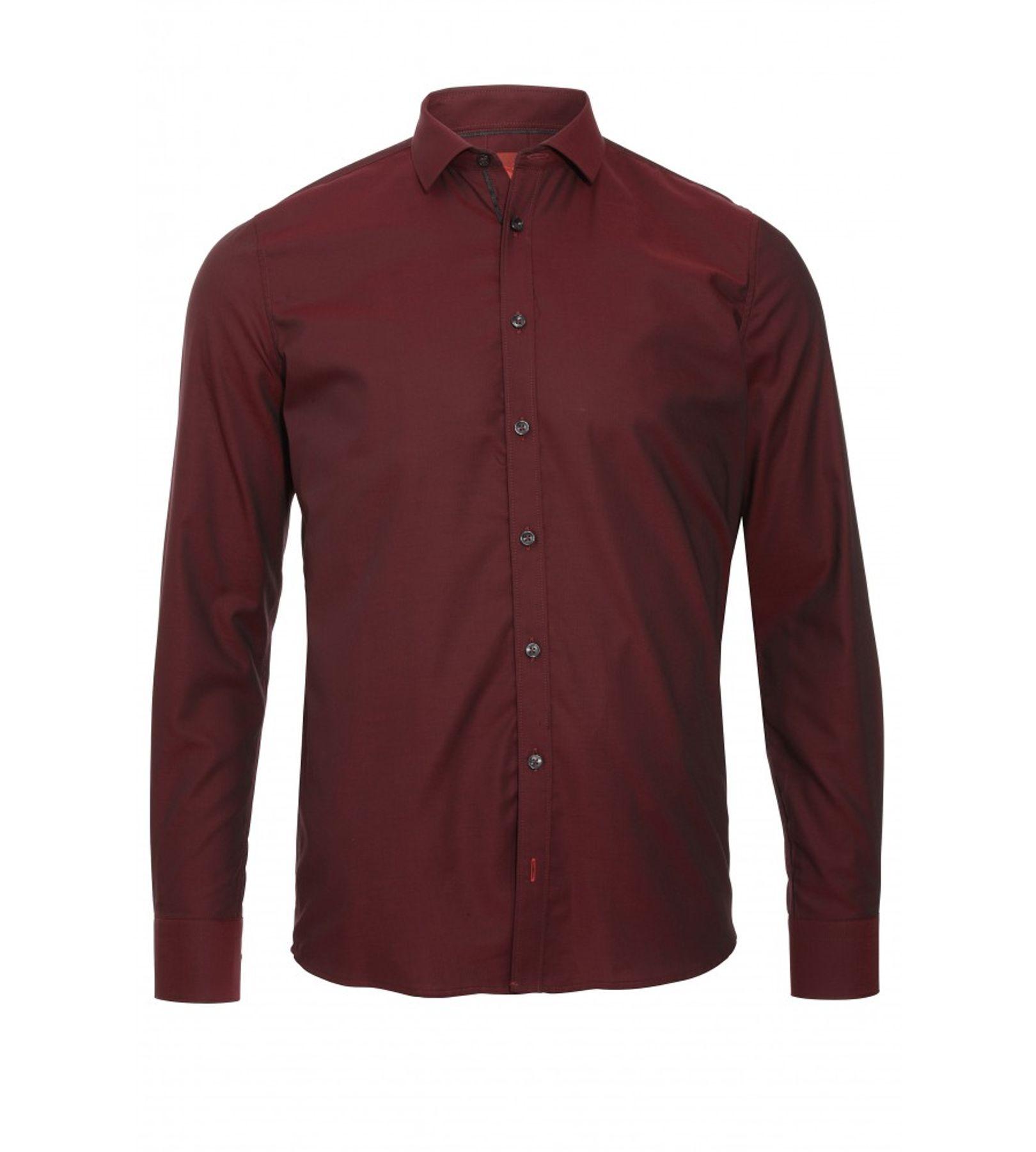 Pure - Slim Fit - Herren Langarm Hemd, verschiedene Farben, XS-XXL (3376-128) – Bild 9