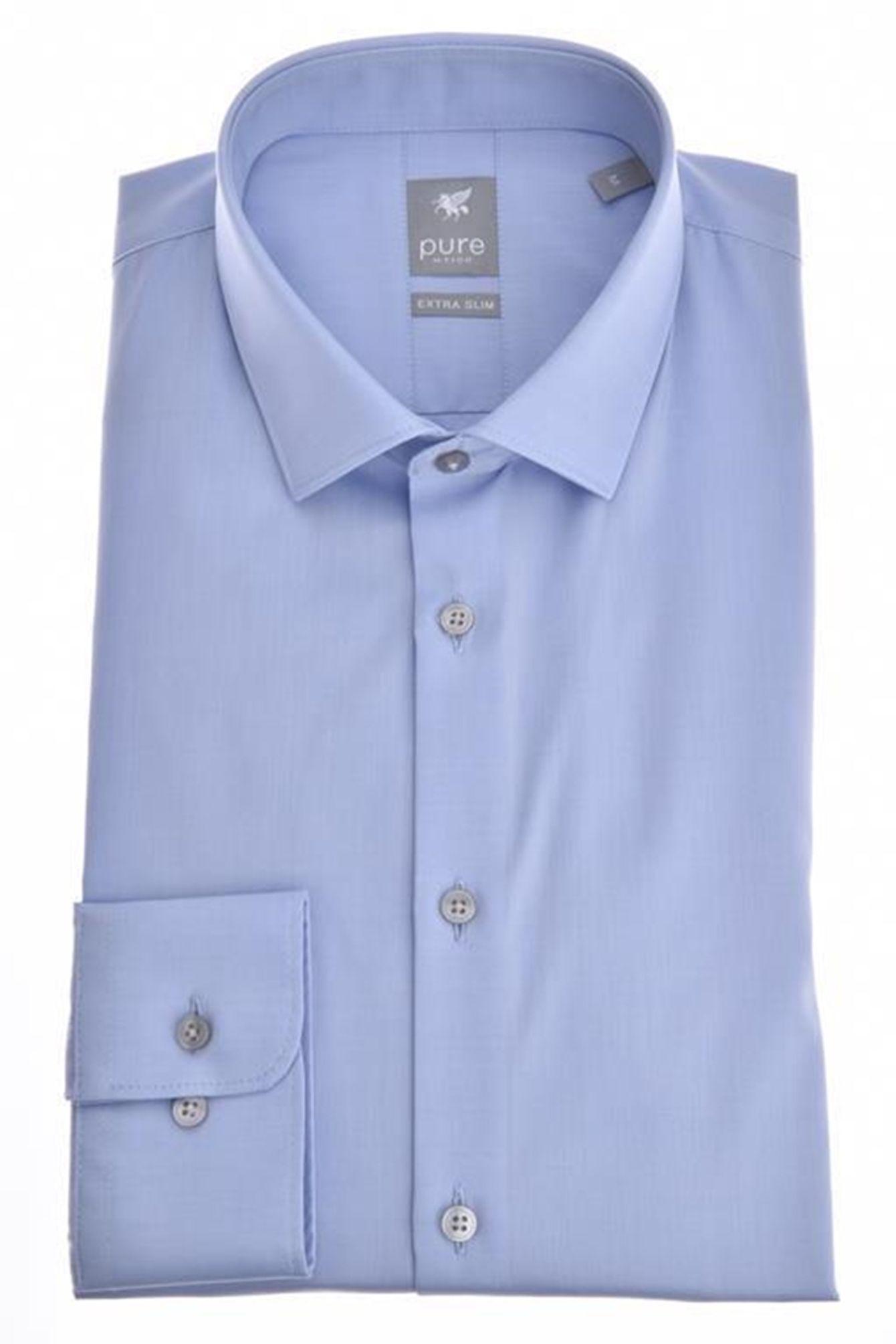 pretty nice 780ec 80c4a Pure - Extra Slim Fit - Herren Langarm Hemd in verschiedenen Farben, XS-XXL  (3377 764)