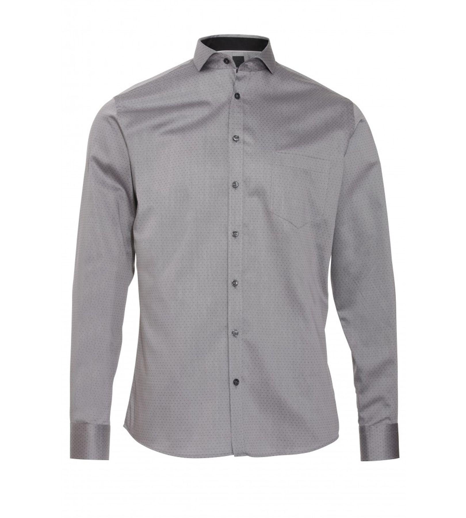 Pure - Slim Fit - Herren Langarm Hemd in verschiedenen Farben (3548 454) – Bild 1