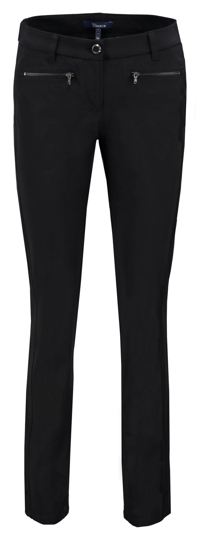 Atelier Gardeur - Slim Fit - Damen 5-Pocket Röhrenhose aus Baumwollstretch, Zuri18  (061512) – Bild 5