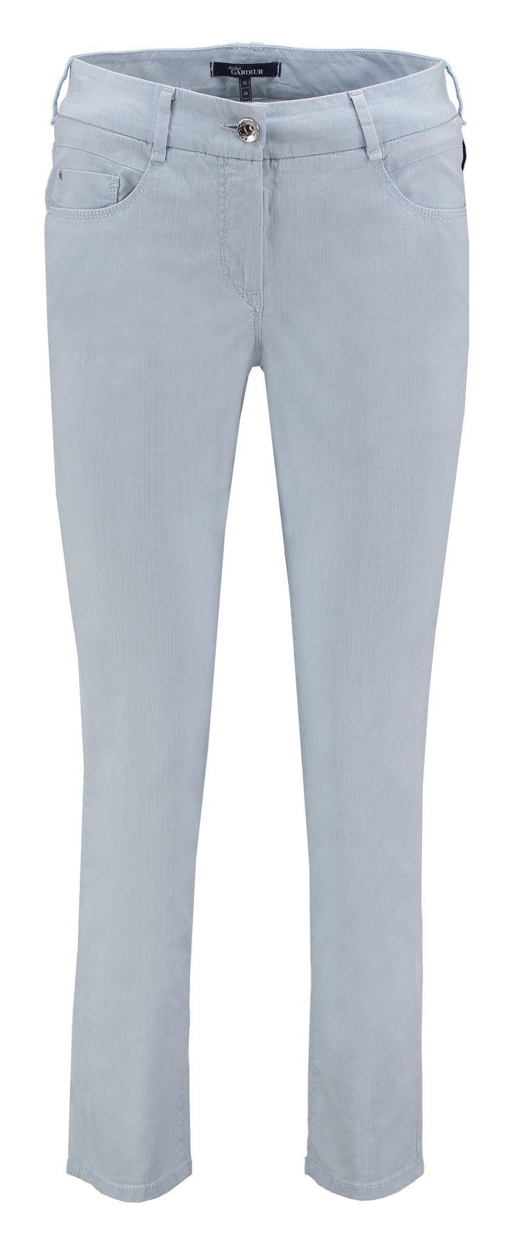 Atelier Gardeur - Slim Fit - Damen 5-Pocket Röhrenhose aus Baumwollstretch Zuri24 000102-600101) – Bild 2