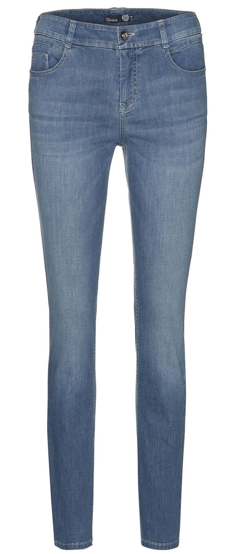 Atelier Gardeur - Slim Fit - Damen 5-Pocket Röhrenhose aus Baumwollstretch, Zuri (670171) – Bild 1