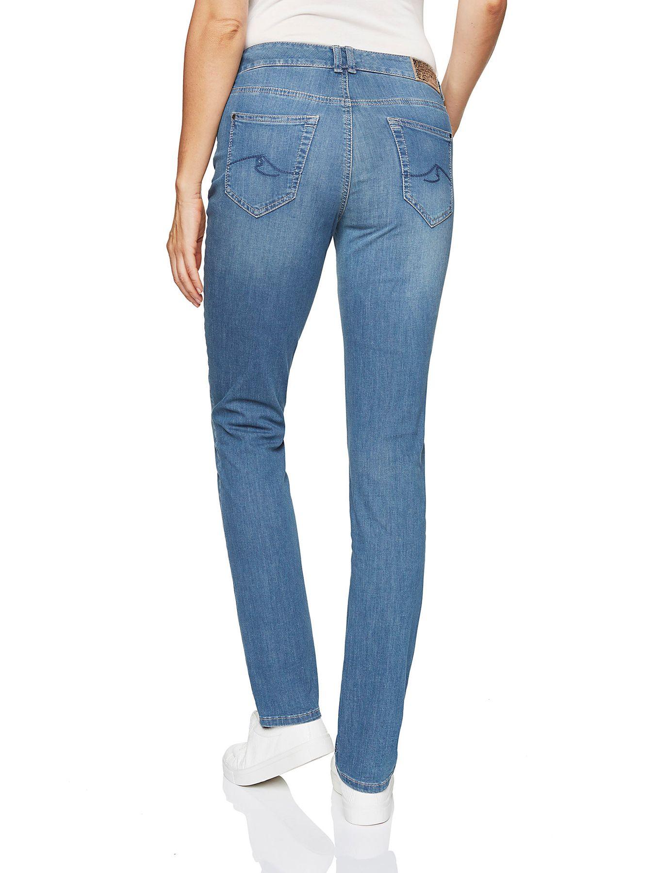 Atelier Gardeur - Slim Fit - Damen 5-Pocket Röhrenhose aus Baumwollstretch, Zuri (670171) – Bild 4