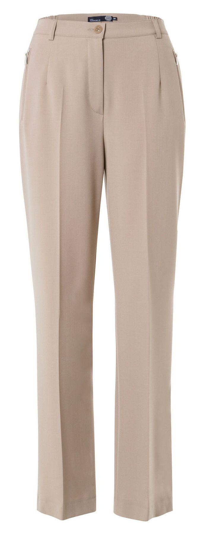 Atelier Gardeur - Comfortable Fit - Damenhose in beige - Karen (061458) – Bild 3