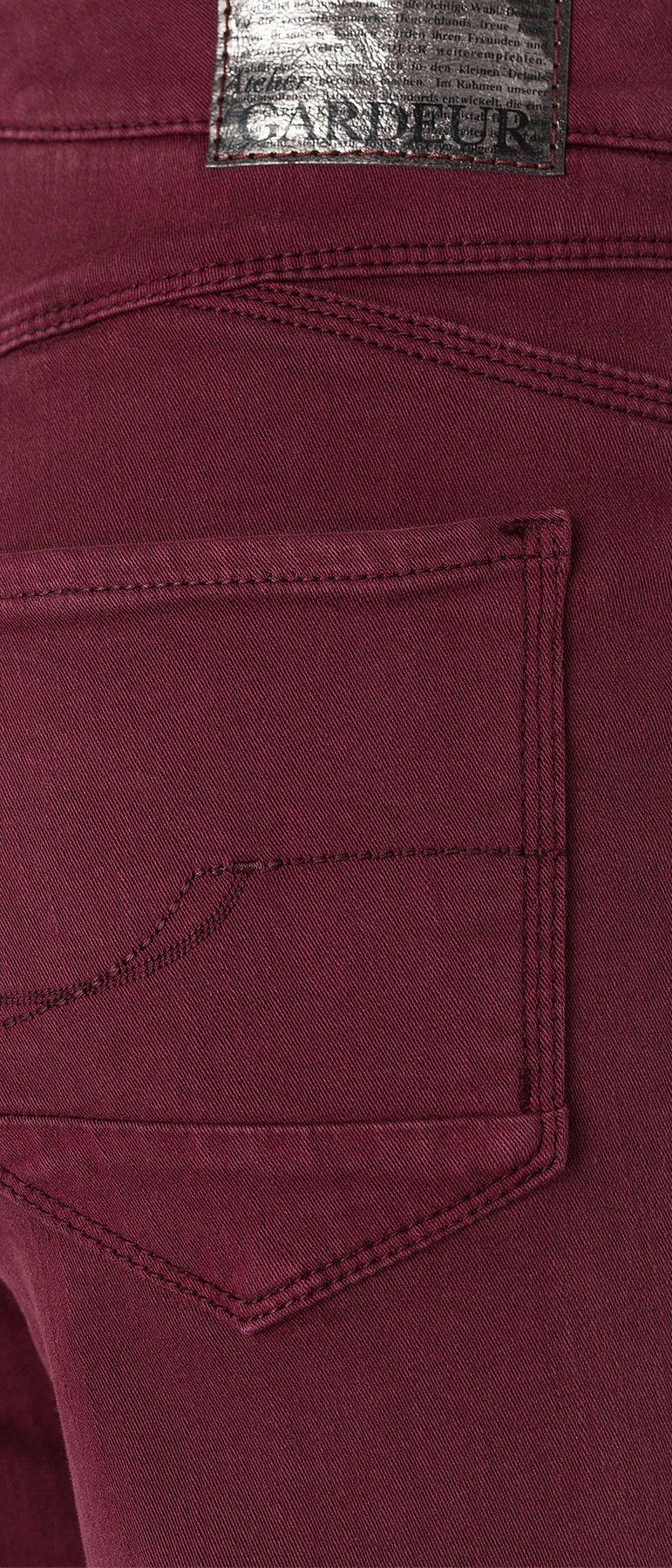 Atelier Gardeur - Feminine Fit - Damen 5-Pocket Hose aus Baumwollstretch, Ciara (080151) – Bild 8