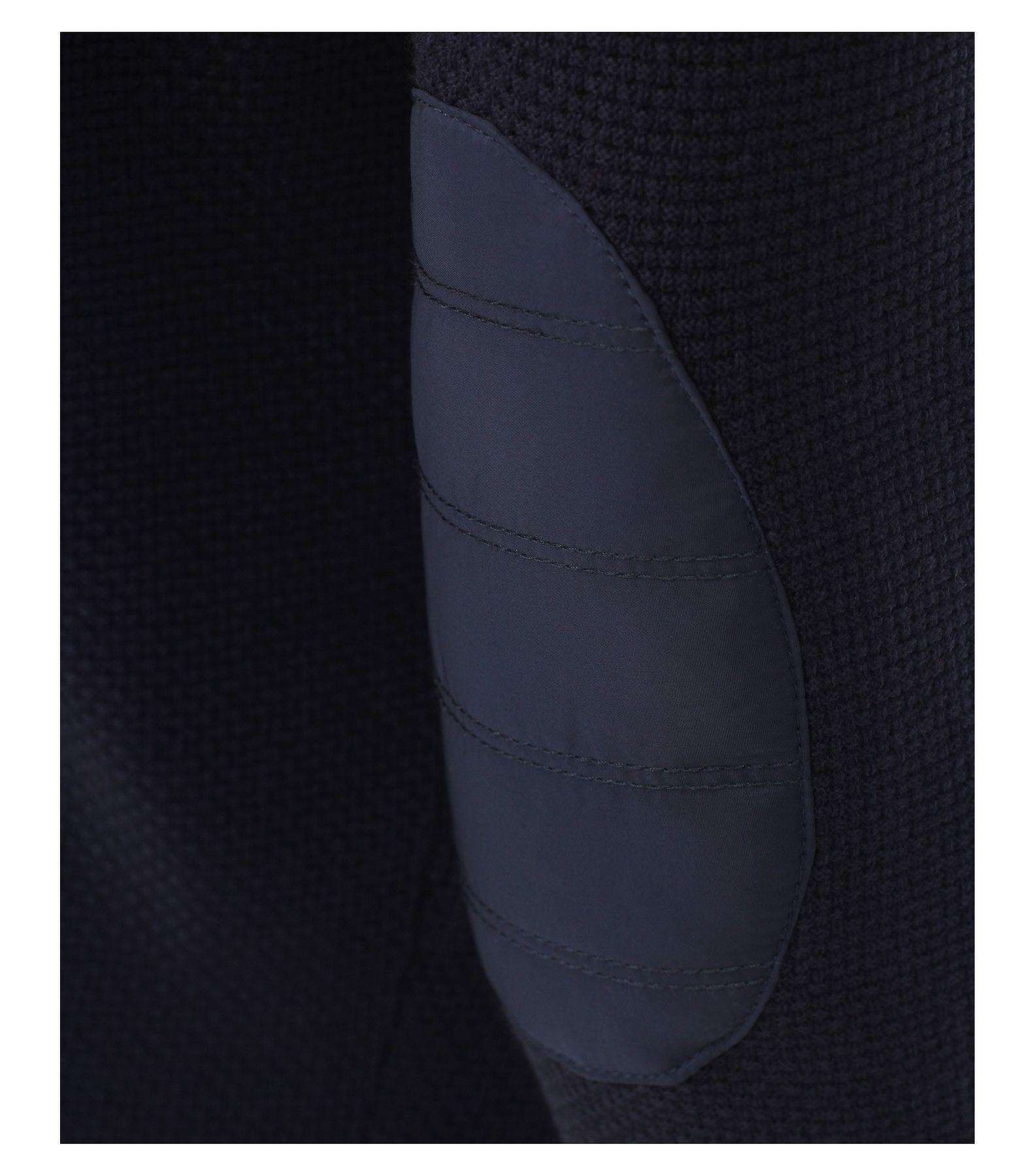 Casa Moda - Herren Sweat-Troyer mit Stehkragen in Blau aus 100% Baumwolle (472779800) – Bild 3