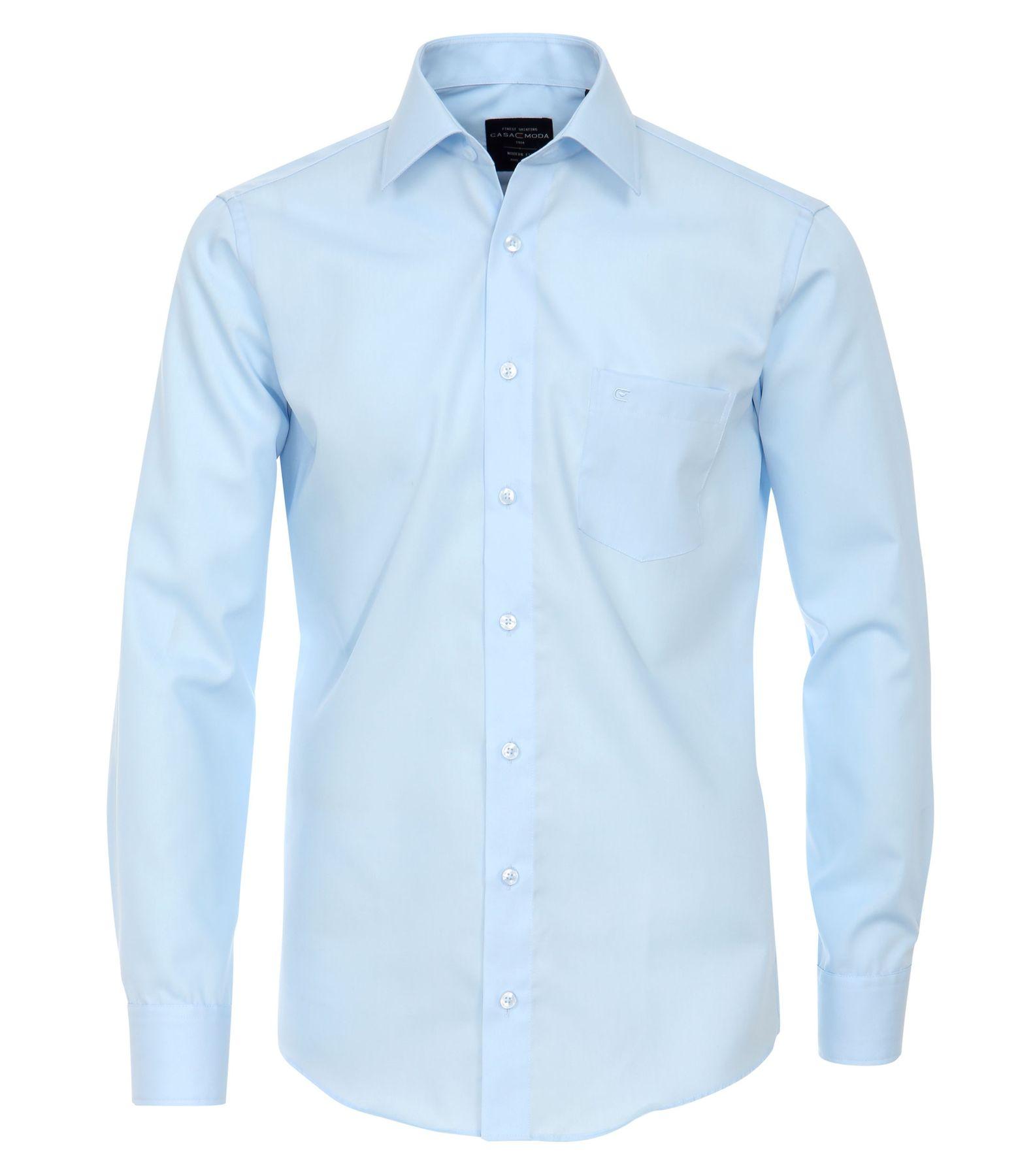 Casa Moda - Modern Fit - Bügelfreies Herren Business langarm Hemd in verschiedene Farben (006550) – Bild 11
