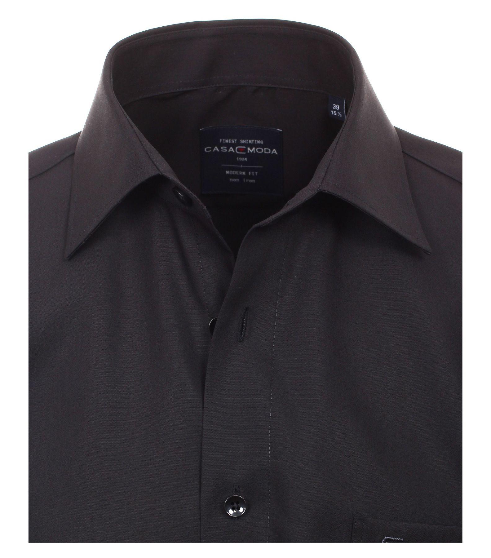 Casamoda - Modern Fit - Bügelfreies Herren kurzarm Hemd in verschiedene Farben (008570) – Bild 23