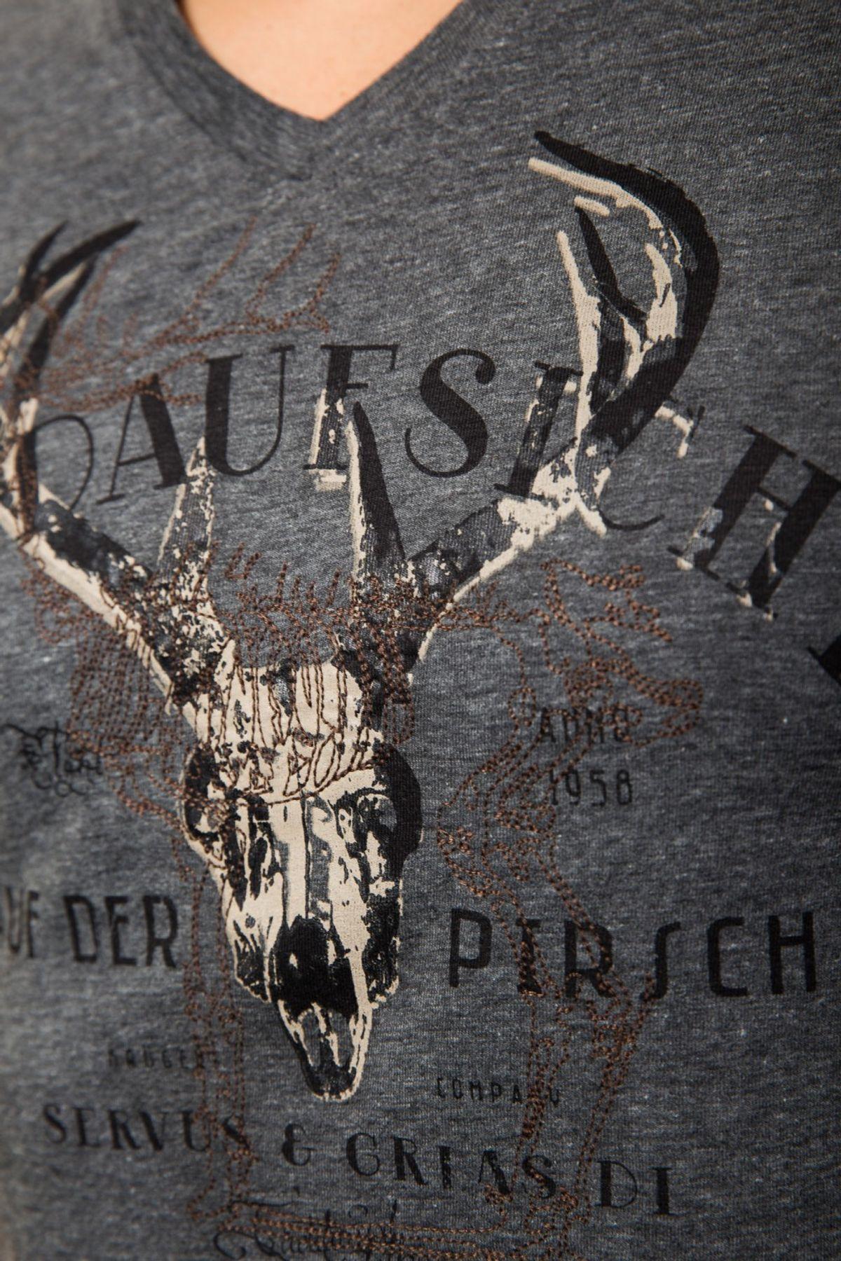 Krüger - Herren Trachten T-Shirt, Jagdaufsicht (Artikelnummer: 93205-41) – Bild 4