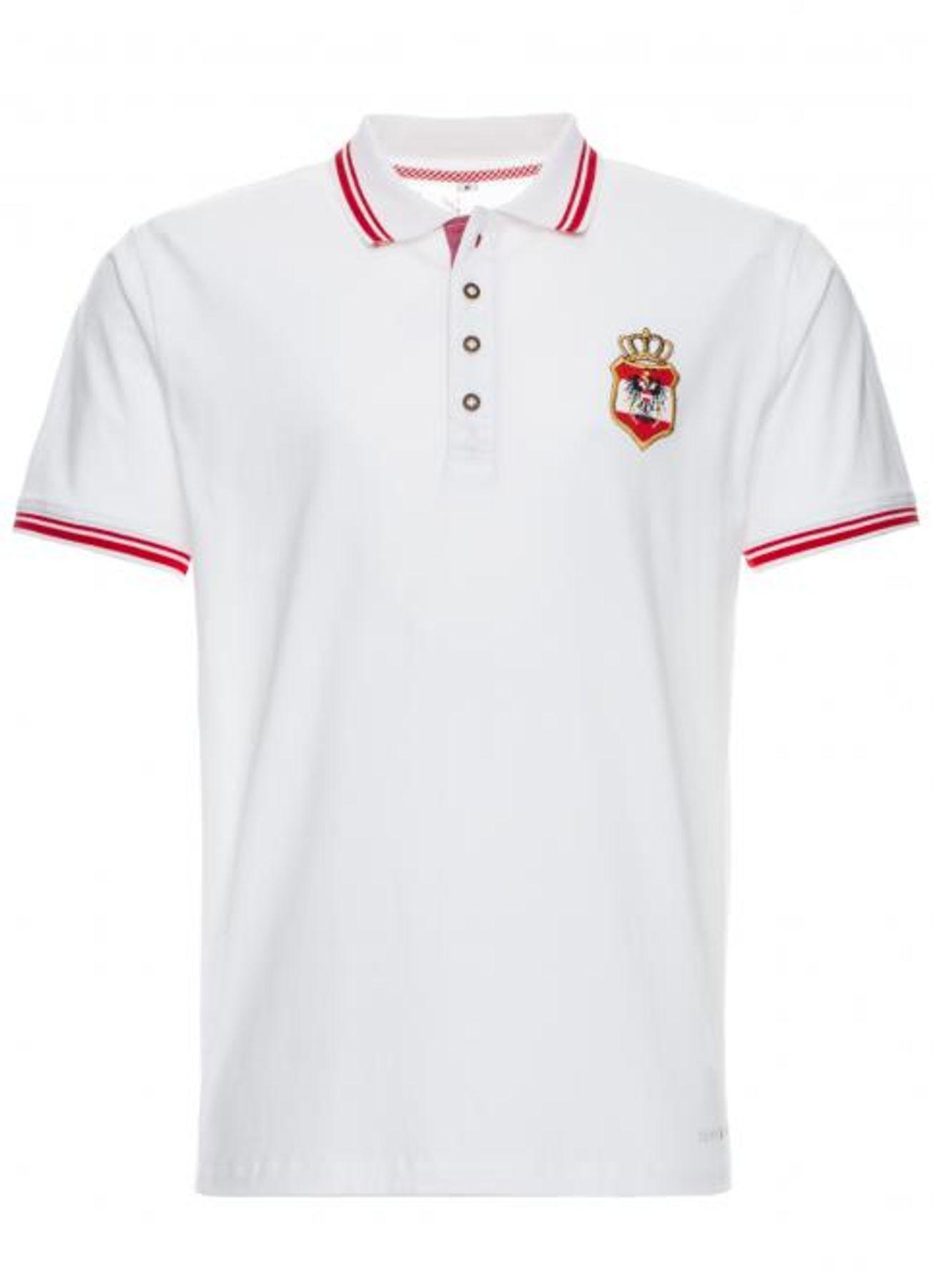 Spieth & Wensky - Herren Trachten T-Shirt Fetan Austria in zwei Farben (291650-0021) – Bild 2