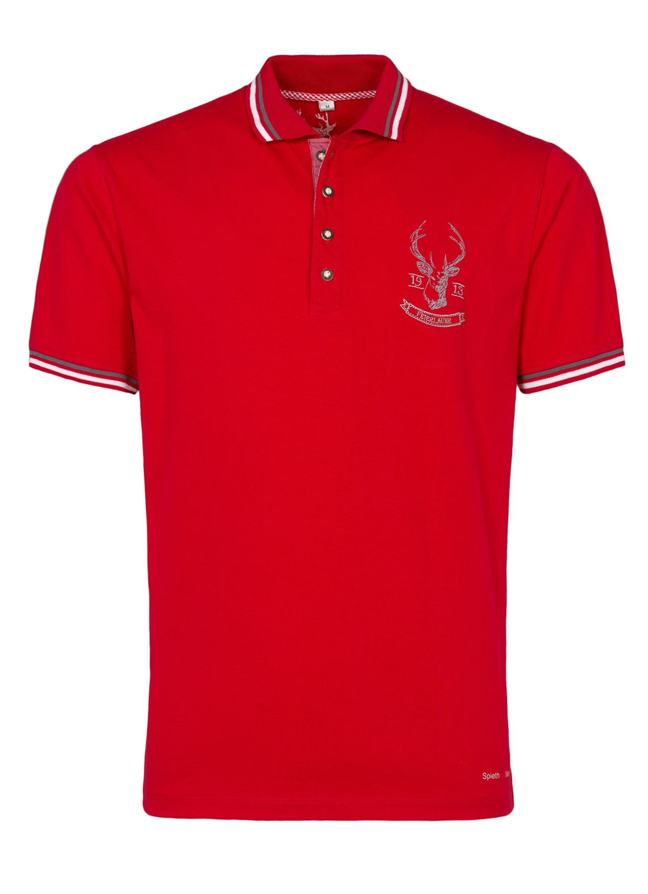 Spieth & Wensky - Herren Trachten T-Shirt Flo in drei Farben (291630-0021) – Bild 1