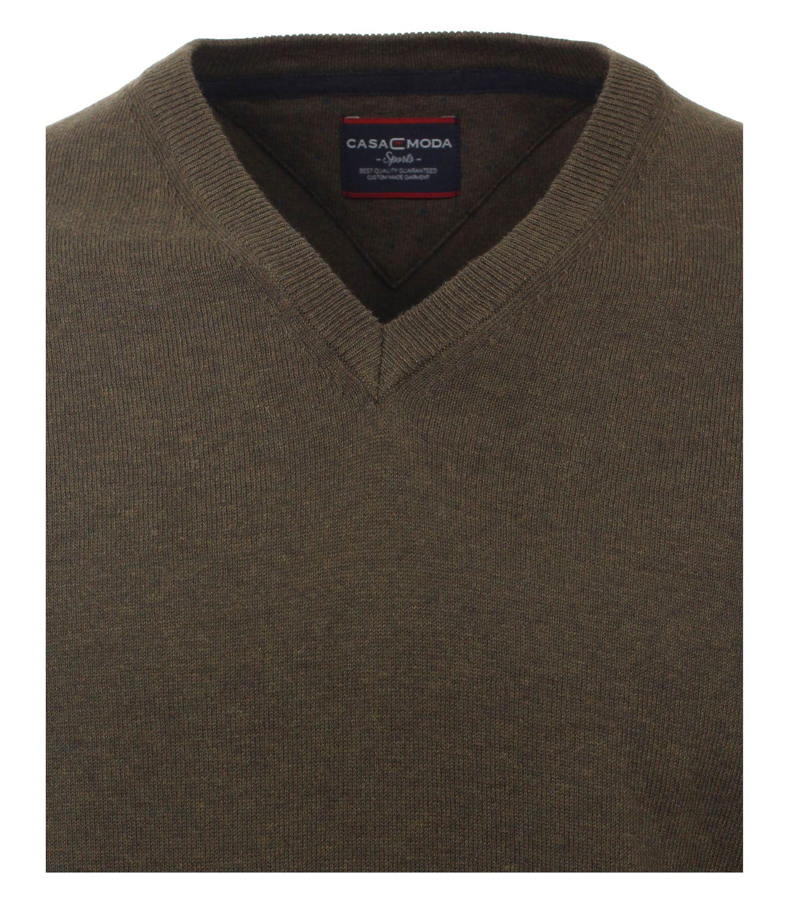 Casa Moda - Herren Pullover mit Kaschmir Anteil und V-Ausschnitt (472847500) – Bild 9