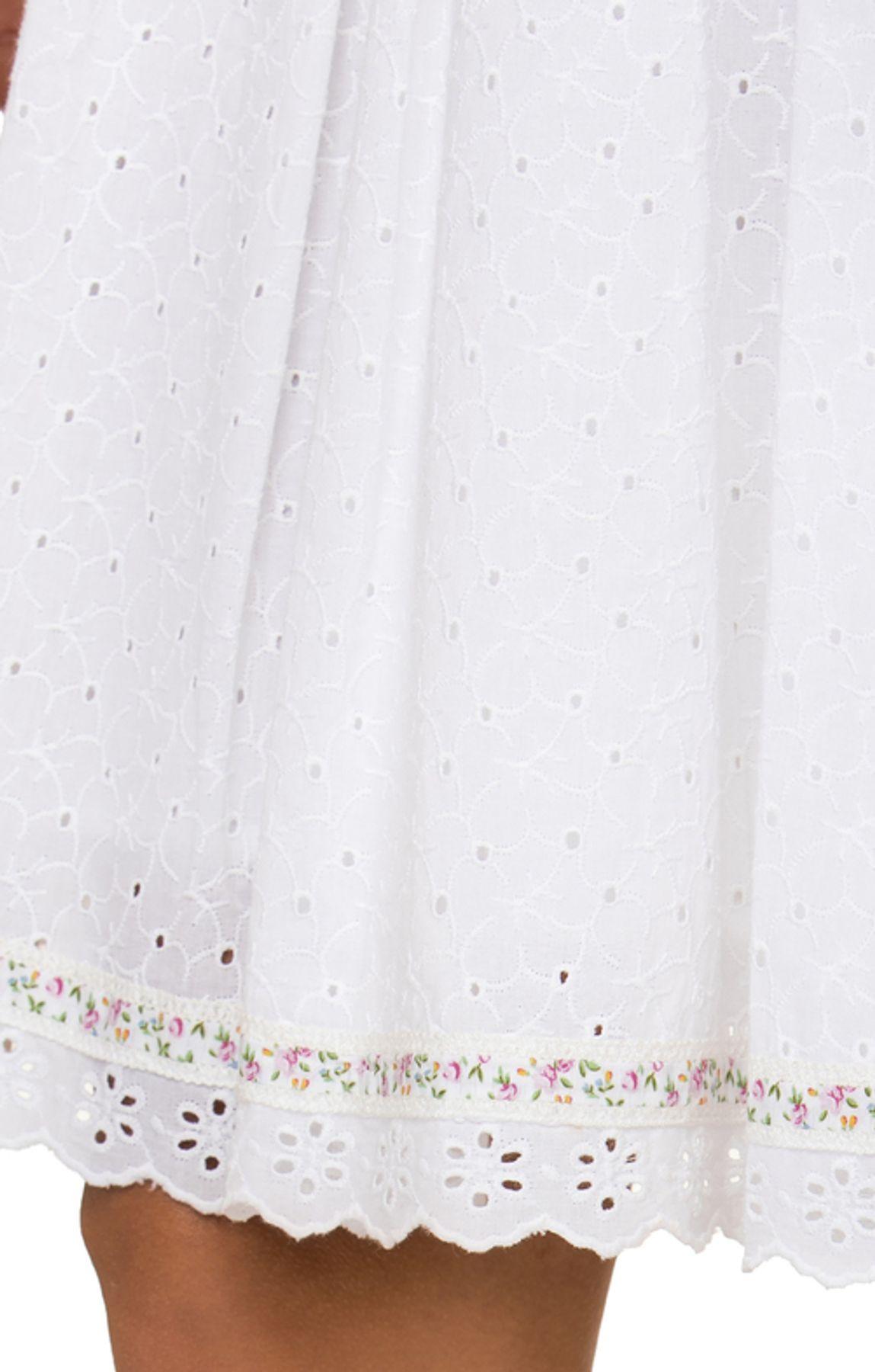 Stockerpoint - Damen Trachten Rock, kurz weiß, Tomina – Bild 6