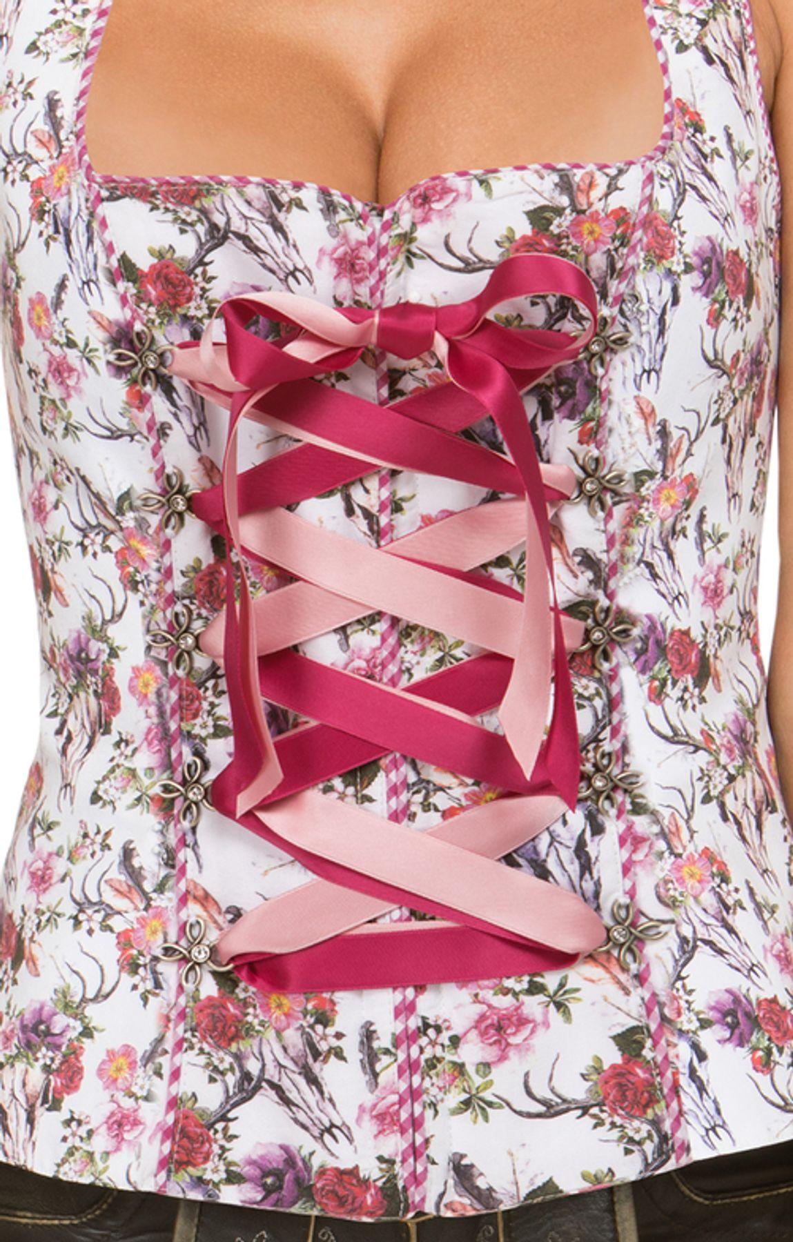 Stockerpoint - Damen Trachtenmieder flower, Missy – Bild 4