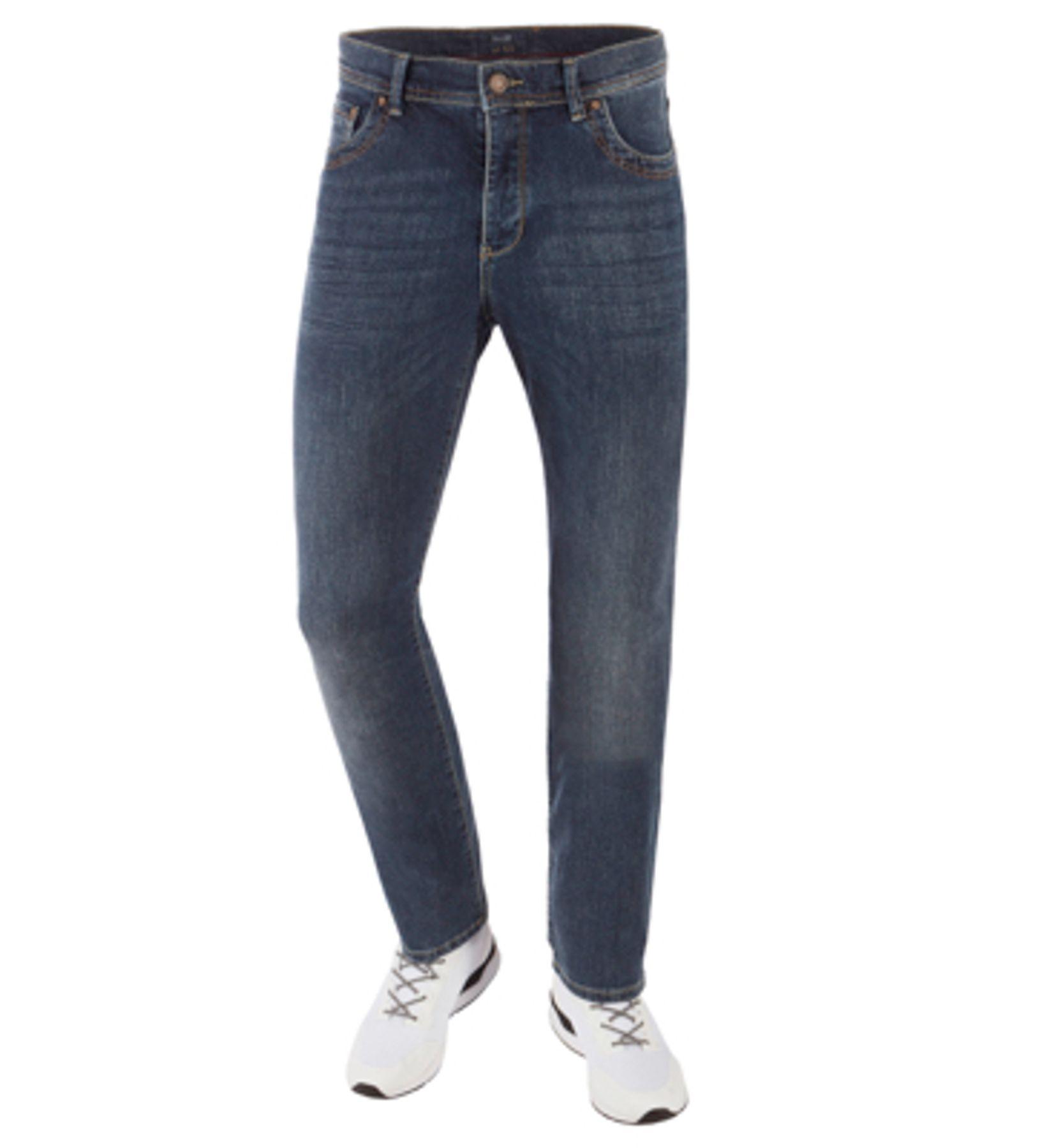 Bugatti - Herren Jeans Five Pocket-Hose Used Look Raw oder Black (Art. Nr.: 3470D-26602) – Bild 3