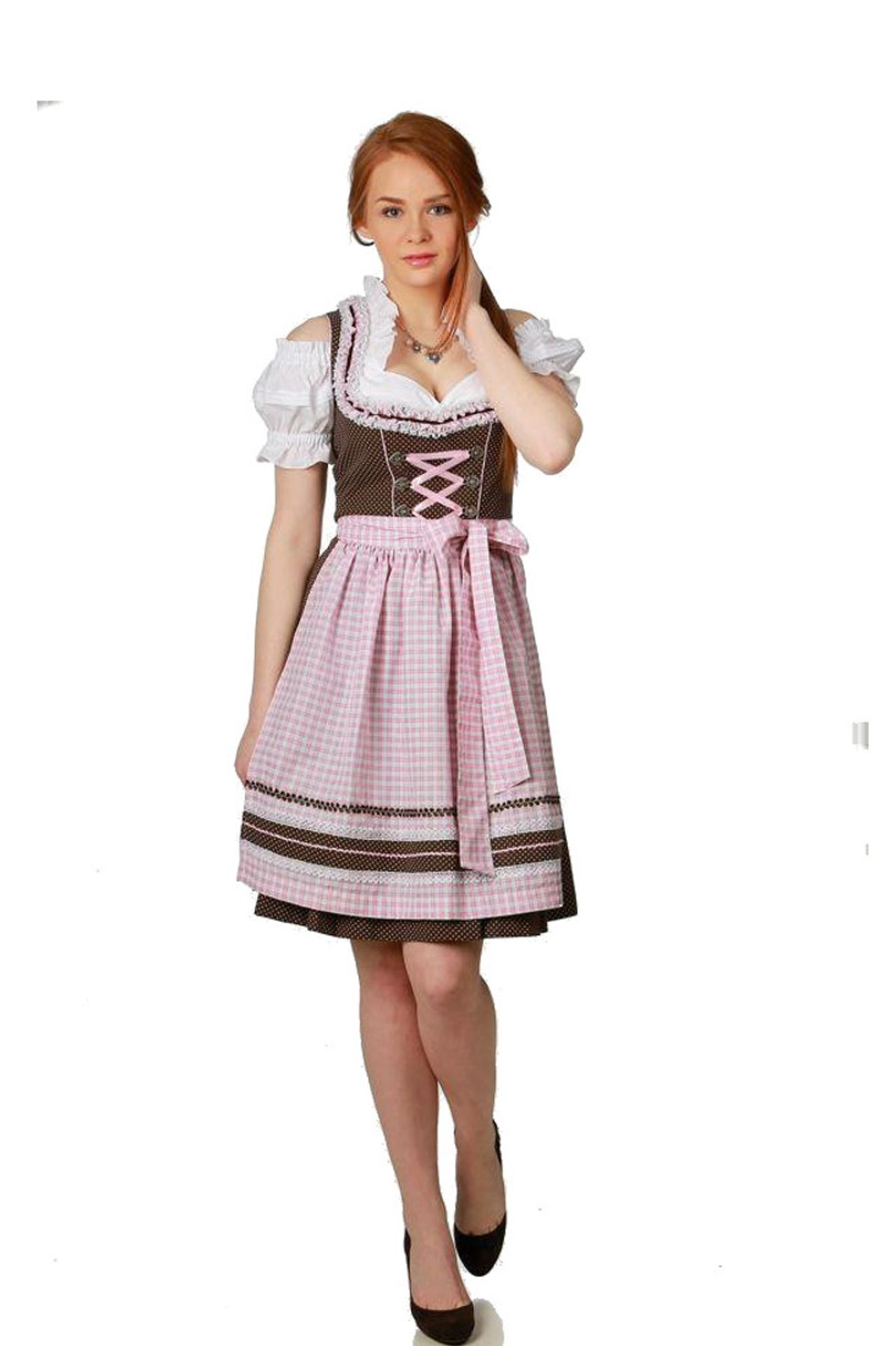 Fuchs Trachten - Damen Dirndl,  (55 cm) (Artikelnummer: 5779)
