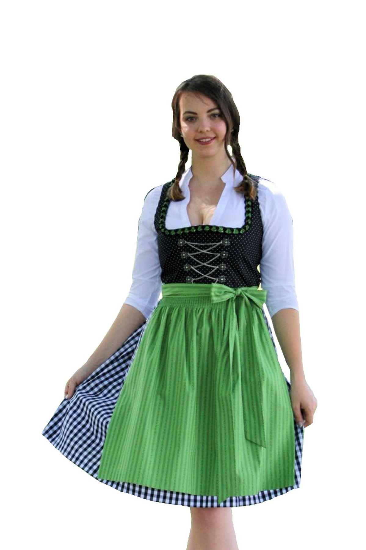 Fuchs Trachten - Damen Dirndl,  (60 cm) (Artikelnummer: 5201)