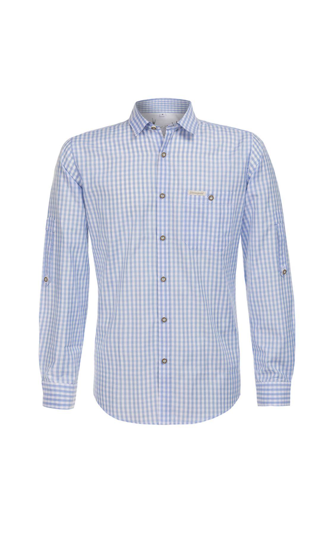 Stockerpoint - Herren Trachtenhemd in verschiedenen Farben, Campos3 – Bild 11