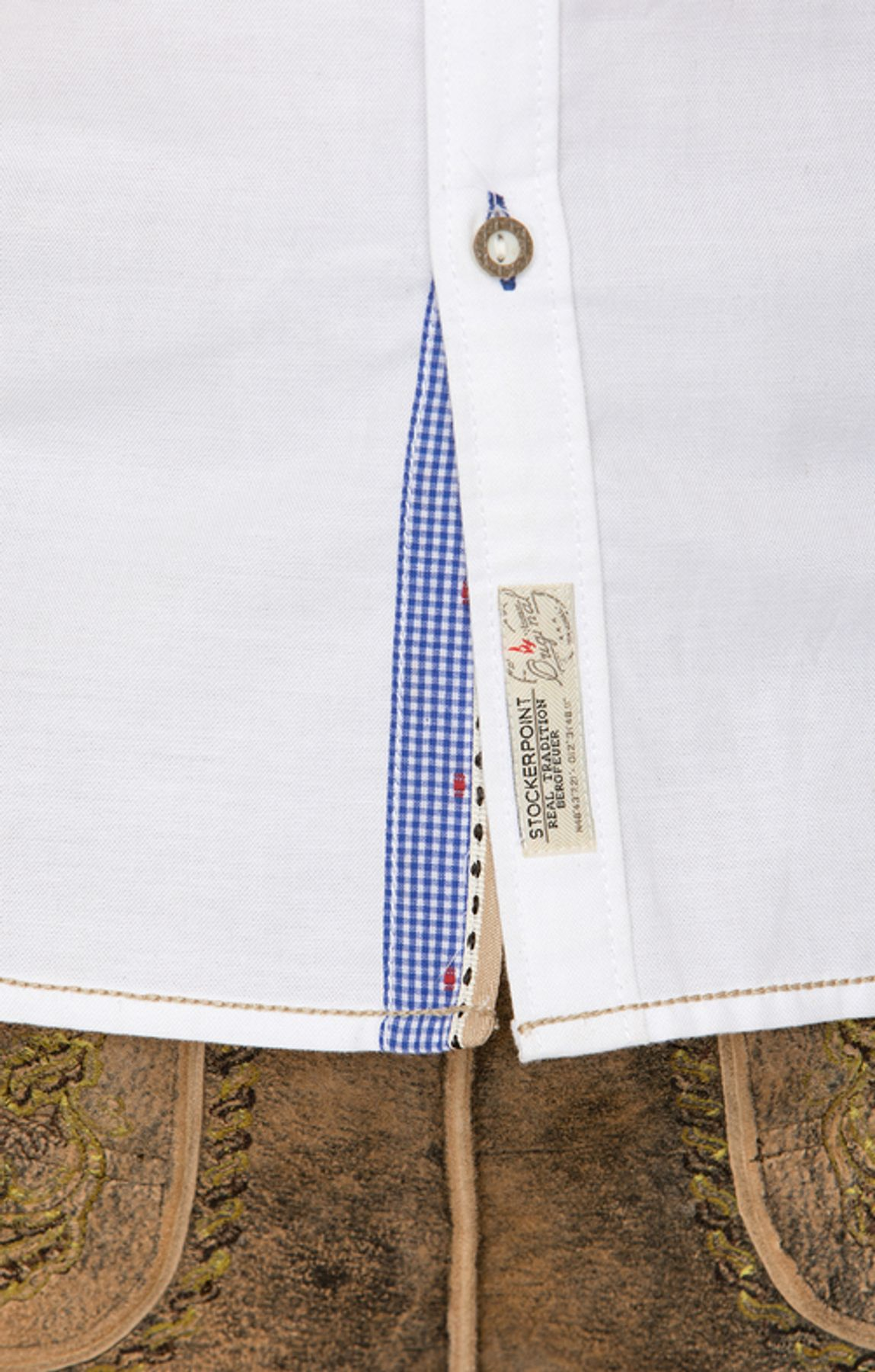 Stockerpoint - Herren Trachtenhemd, Cohen – Bild 5