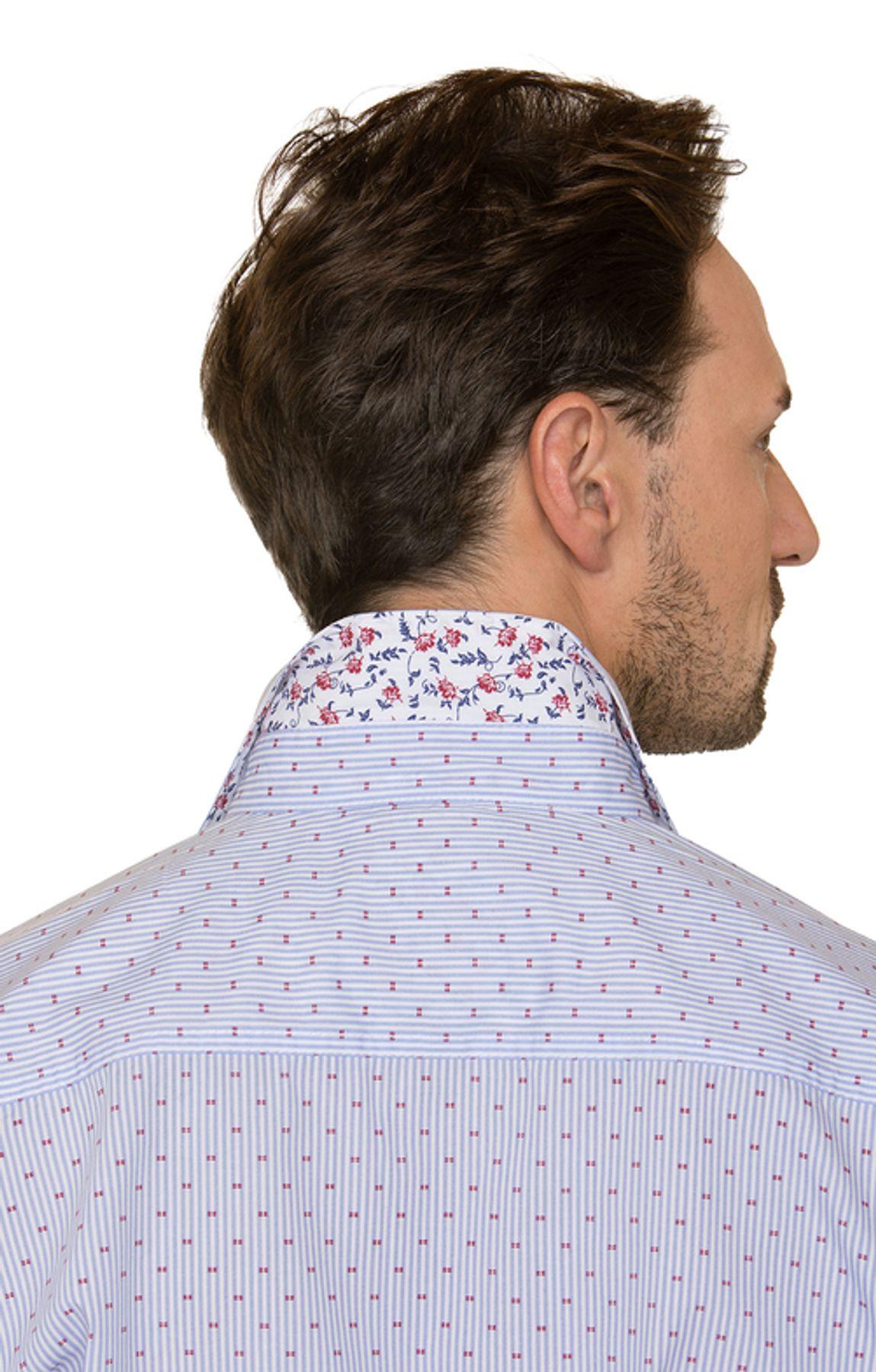 Stockerpoint - Herren Trachtenhemd in Hellblau, Kito – Bild 6