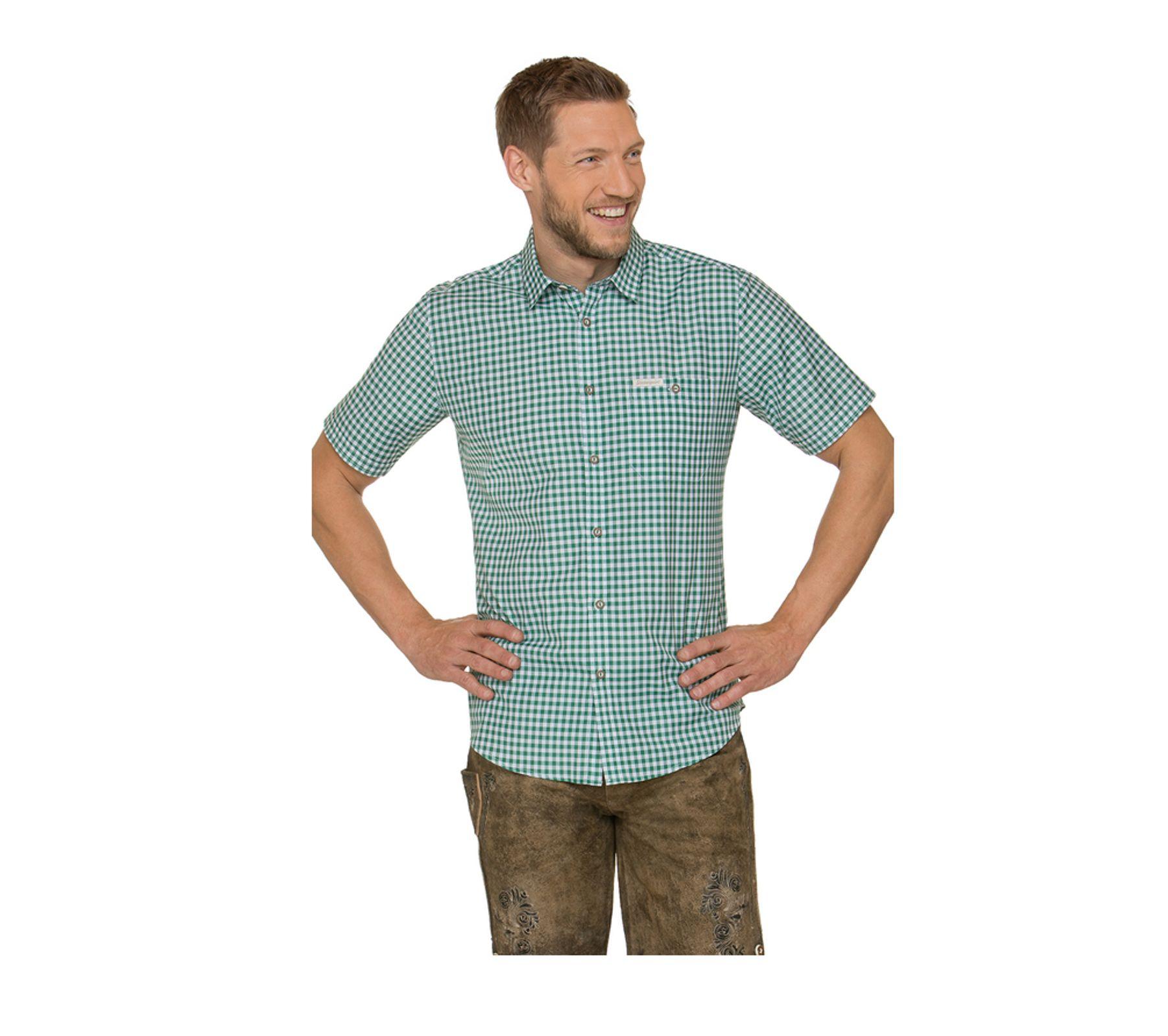 Stockerpoint - Herren kurzarm Trachtenhemd in verschiedenen Farben, Renko3 – Bild 17