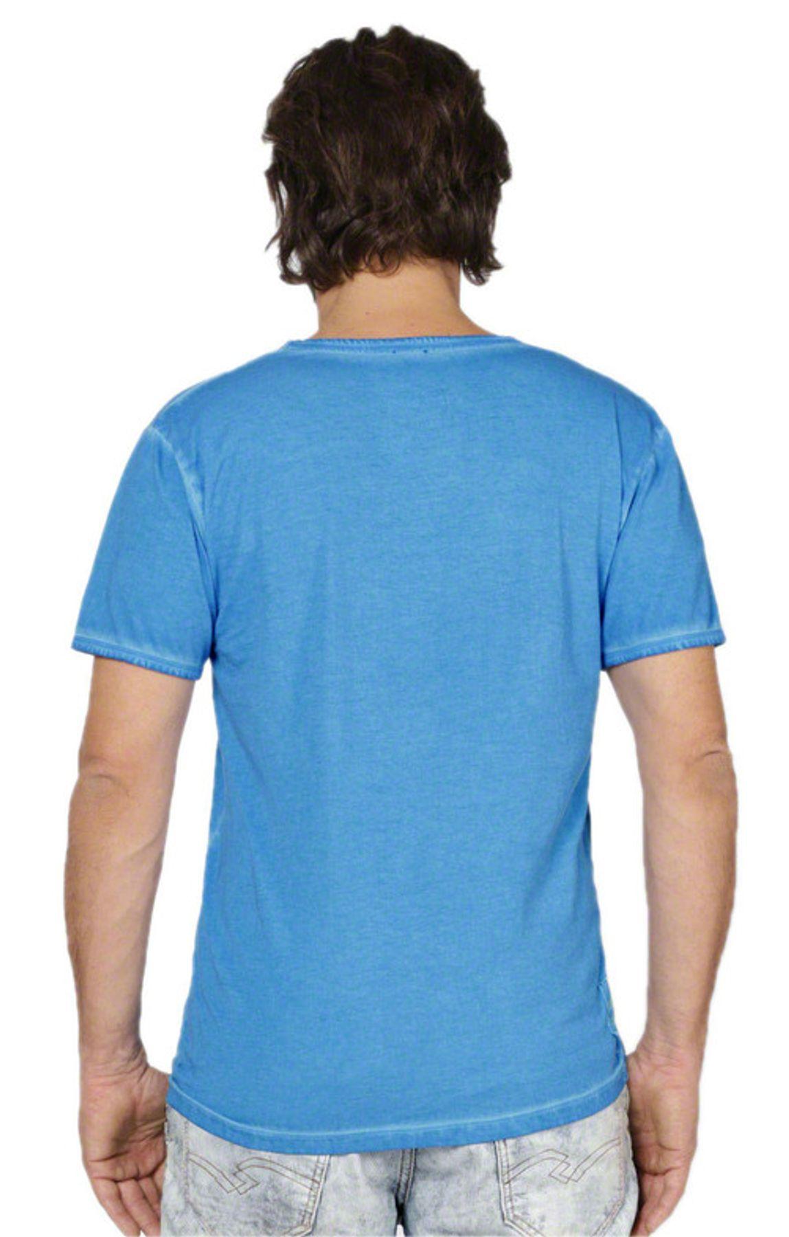 Stockerpoint - Herren Trachten T-Shirt, Falko – Bild 6