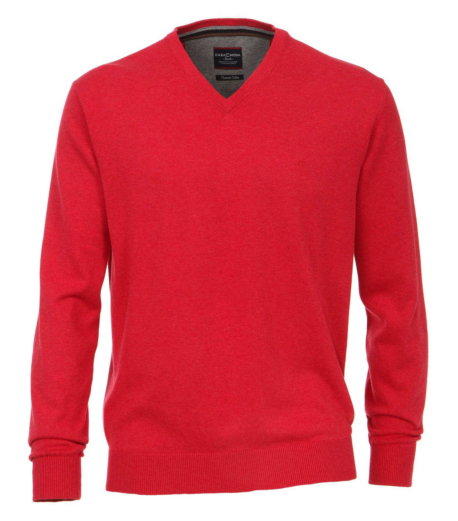 Casa Moda - Herren Pullover mit V-Ausschnitt in verschiedenen Farben (004130) – Bild 16