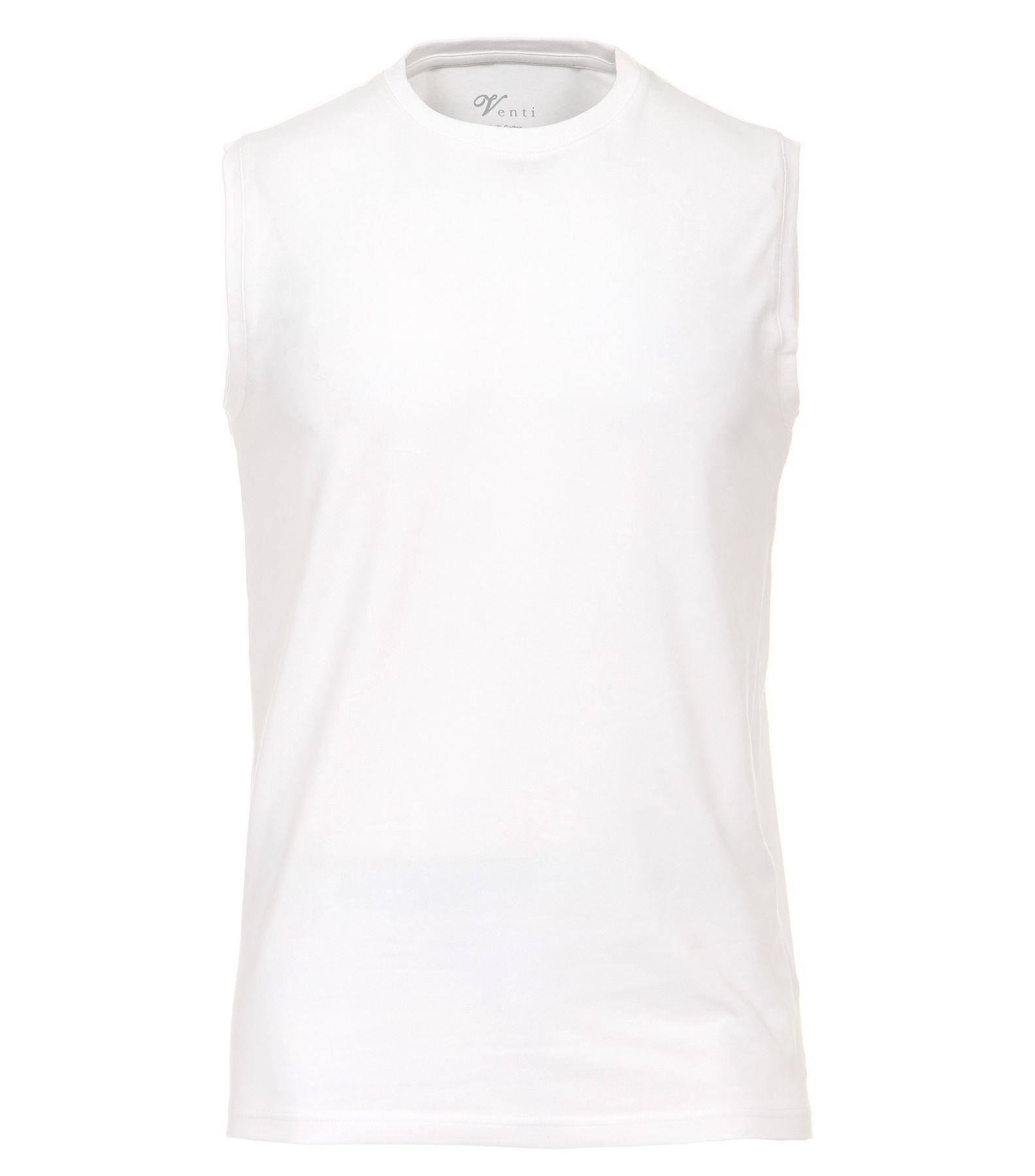 Venti - Slim Fit - Herren Ärmeloses Shirt, Rundhals im 2er Pack, schwarz oder weiß (001750) – Bild 1