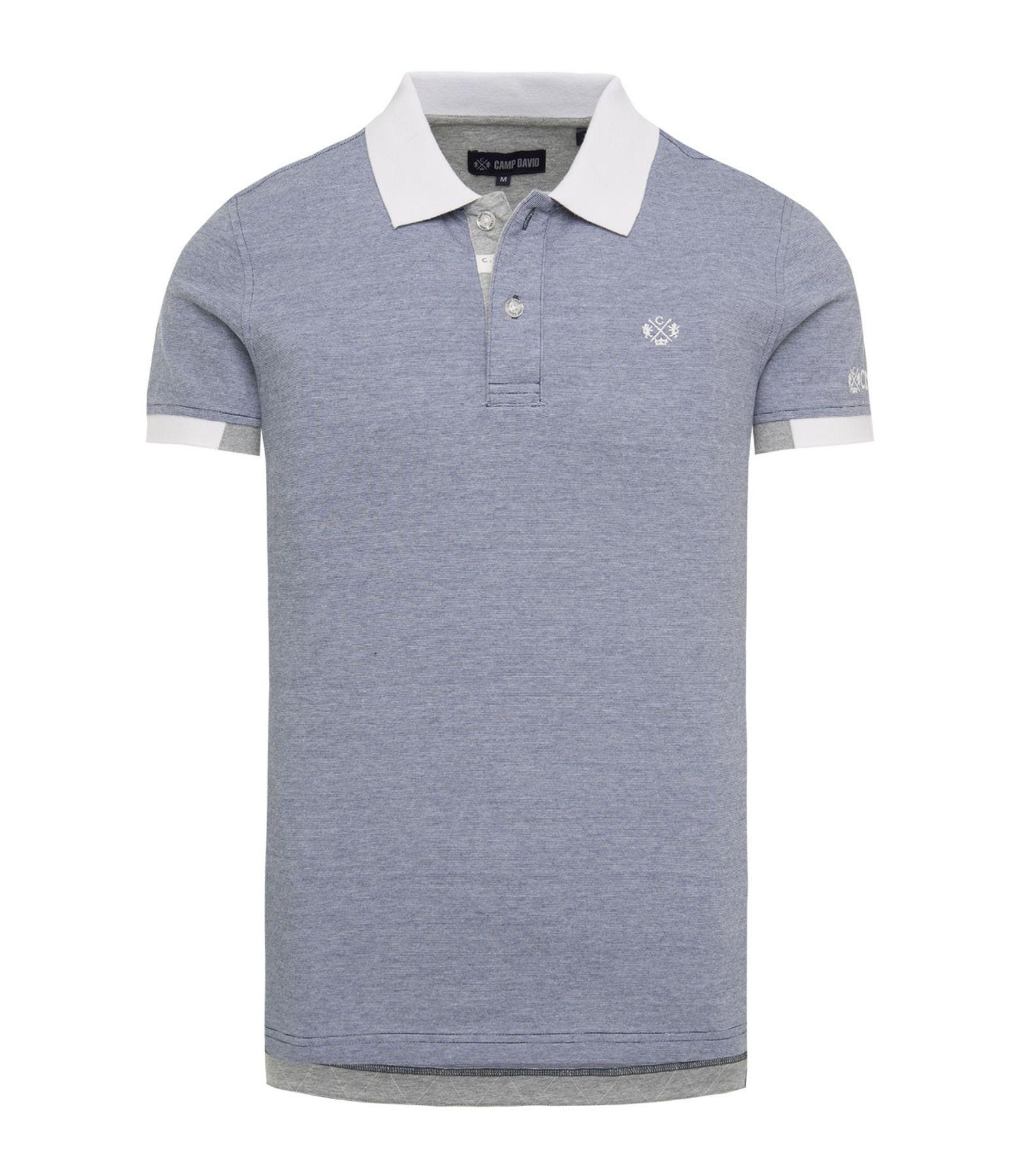 Camp David - Herren Polo-shirt in verschiedenen Farben, (CHS-1804-3027)  – Bild 1