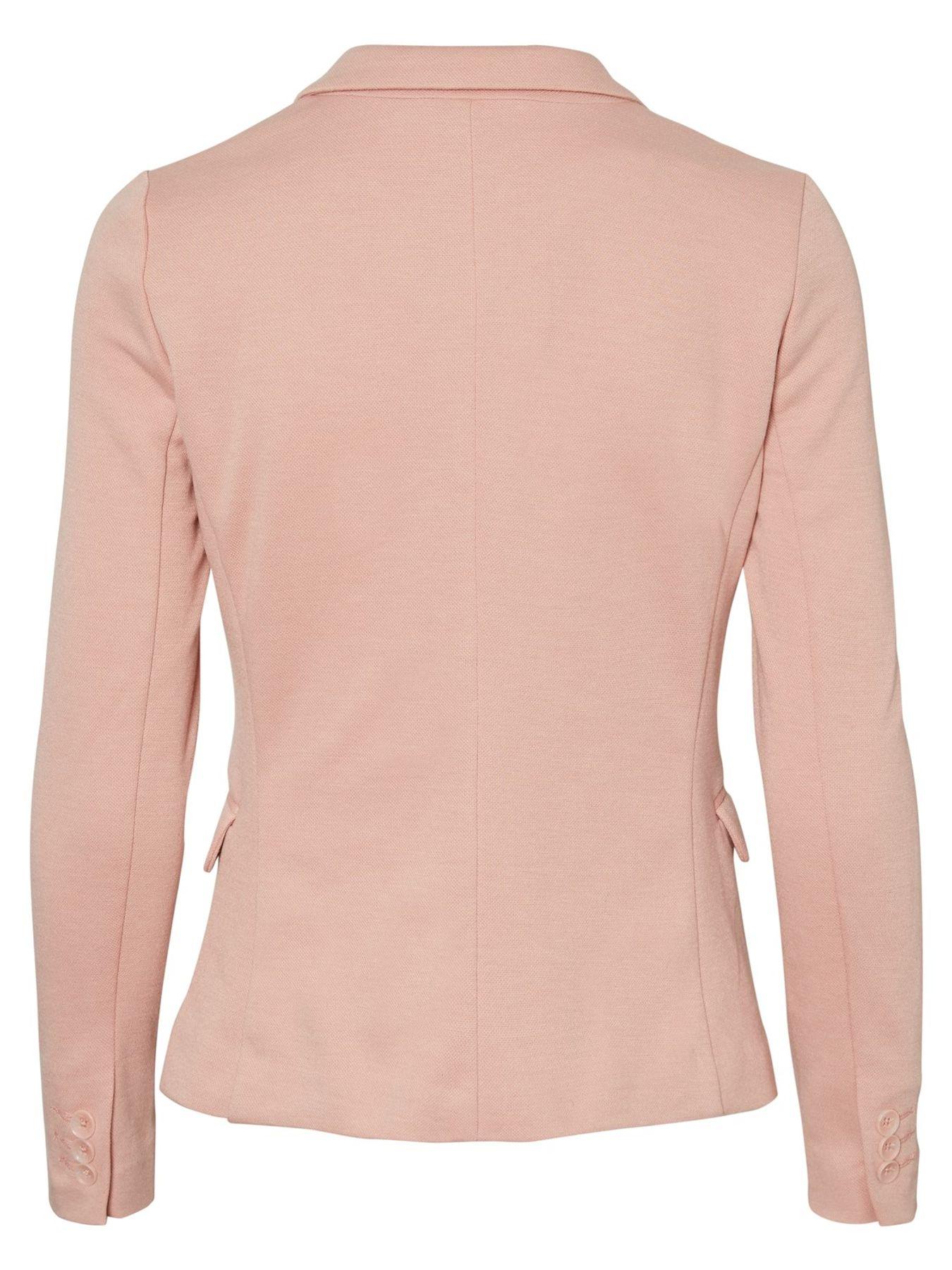 VERO MODA - Damen Jersey-Blazer in grau, schwarz,blau,Curry,rose oder Wine (10154123) – Bild 17