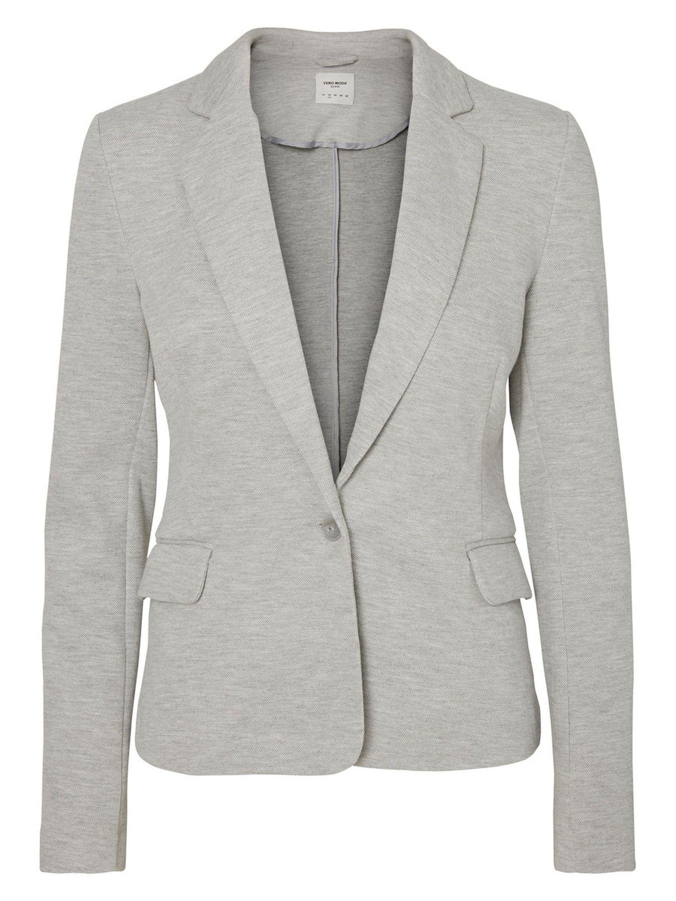VERO MODA - Damen Jersey-Blazer in grau, schwarz,blau,Curry,rose oder Wine (10154123) – Bild 1