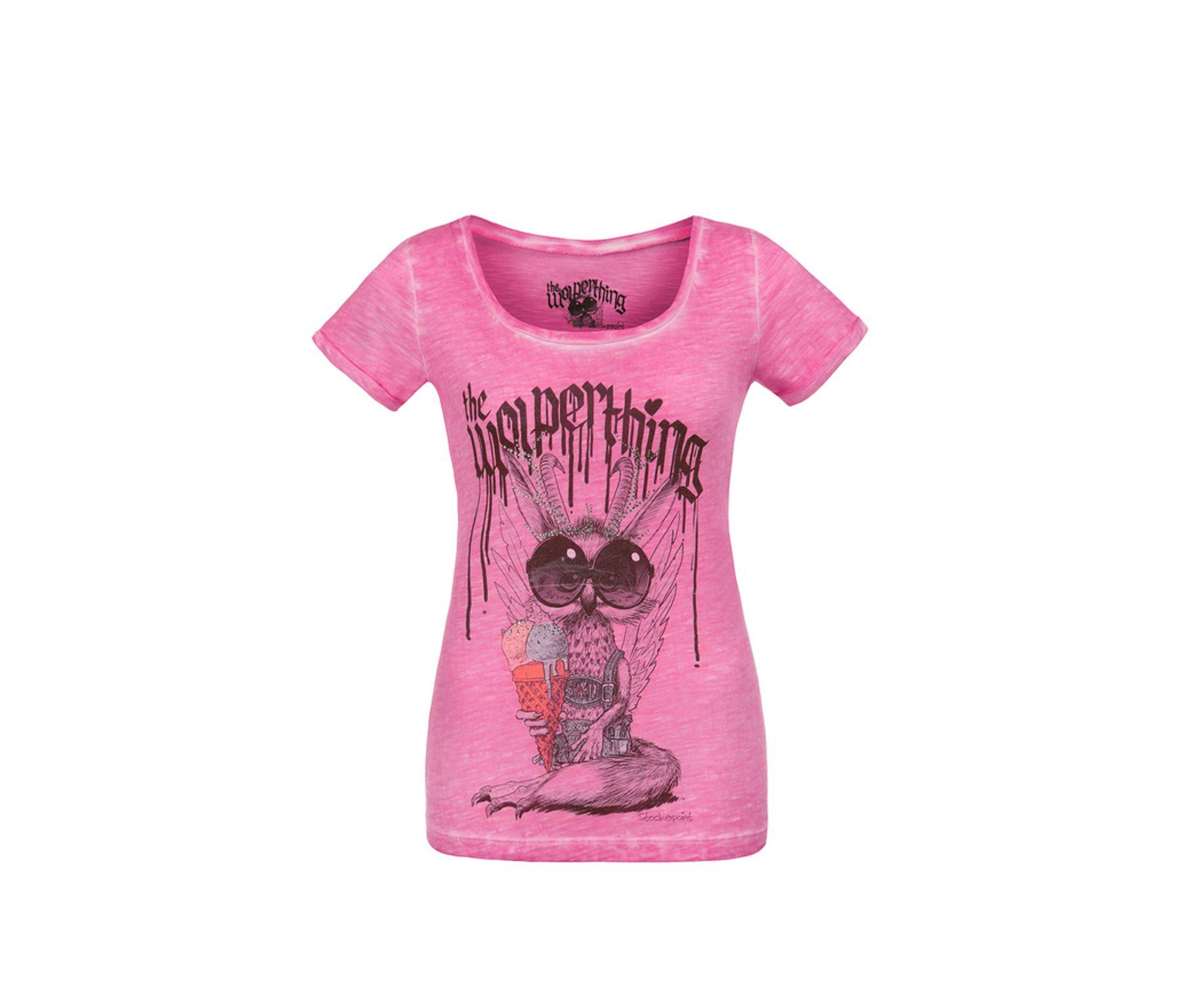 Stockerpoint - Kinder Trachten T-Shirt, Wolpigirl – Bild 4