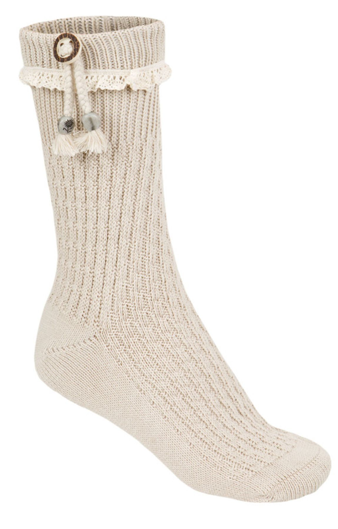 Stockerpoint- Damen Trachten Socken in Natur, 26020