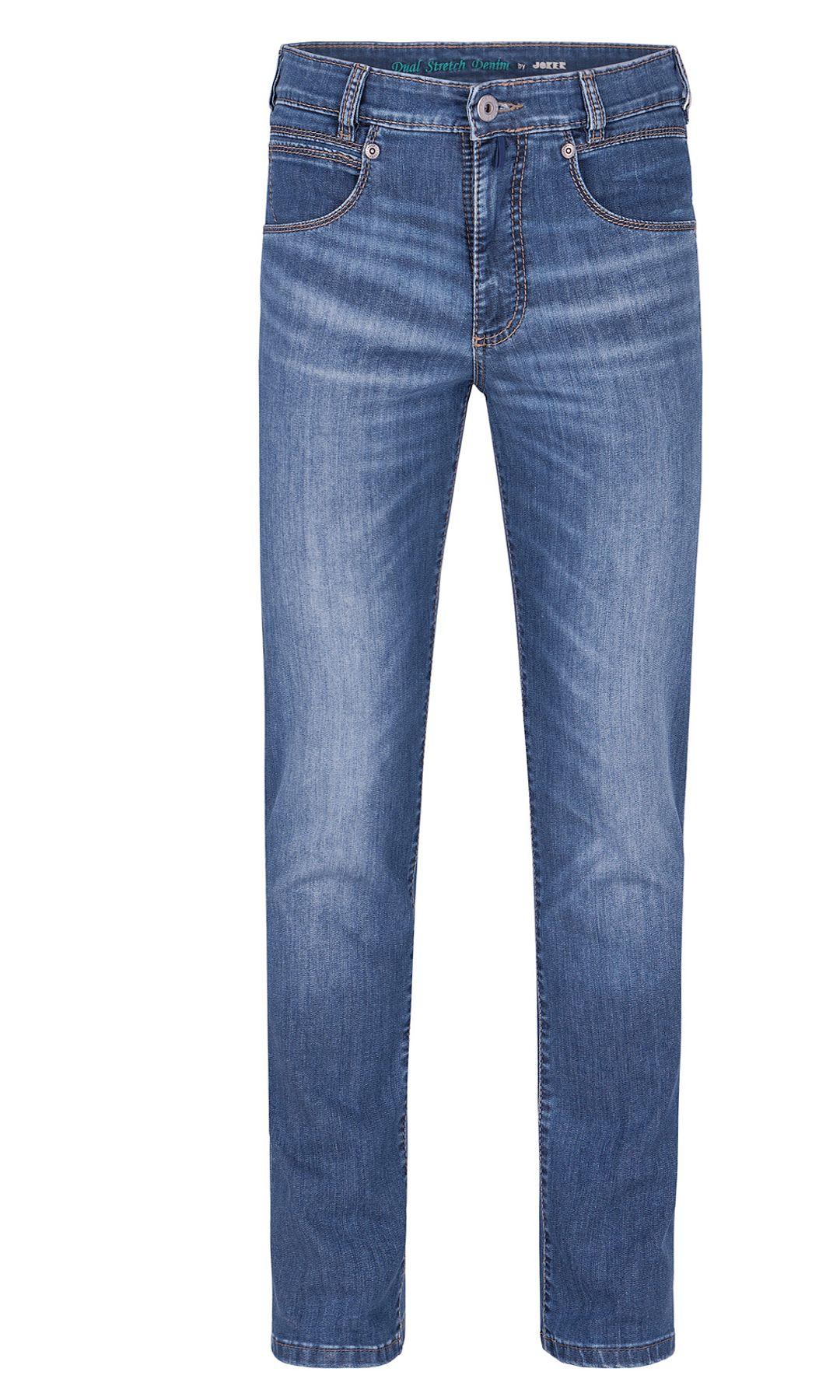 Joker- Herren 5-Pocket Premium Jeans- schlanke Jeans mit Stretch - Artikel Freddy (1982443) – Bild 4