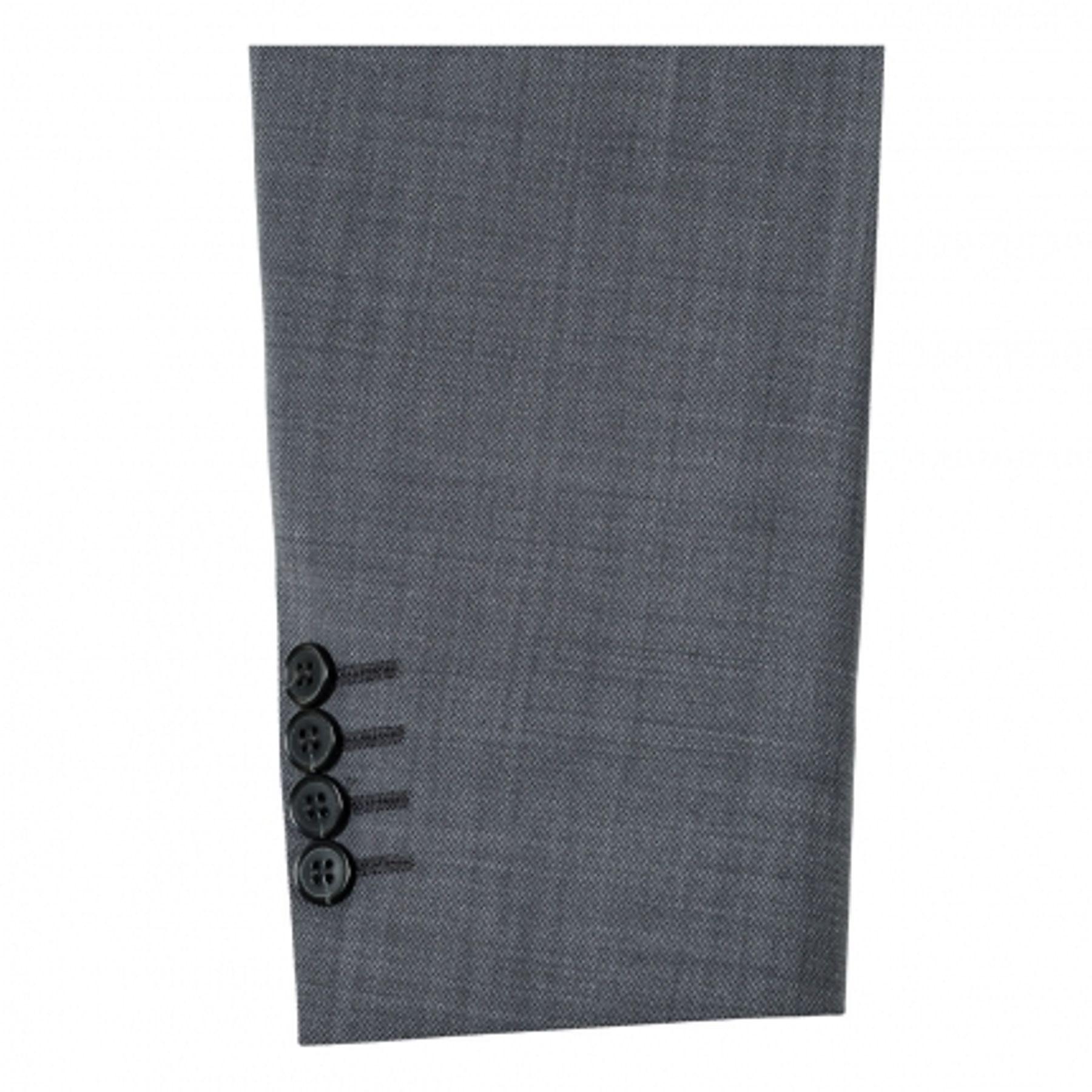 Abiball Anzug - Benvenuto Purple - Slim Fit - Junger Trend-Anzug mit sehr schlankem Schnitt in Anthrazit, Adon/Tozzi (20776, Modell: 61350) – Bild 3
