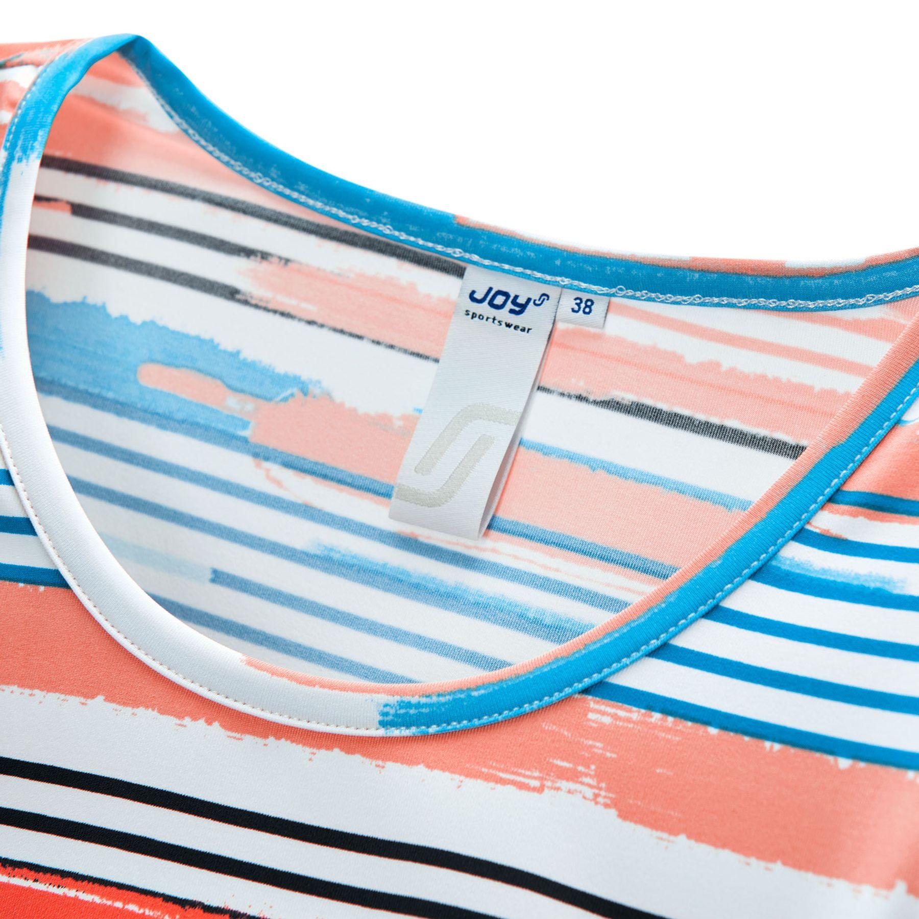 Joy - Damen Sport und Freizeit Shirt mit Streifen-Alloverprint, Alessa (30170A) – Bild 6