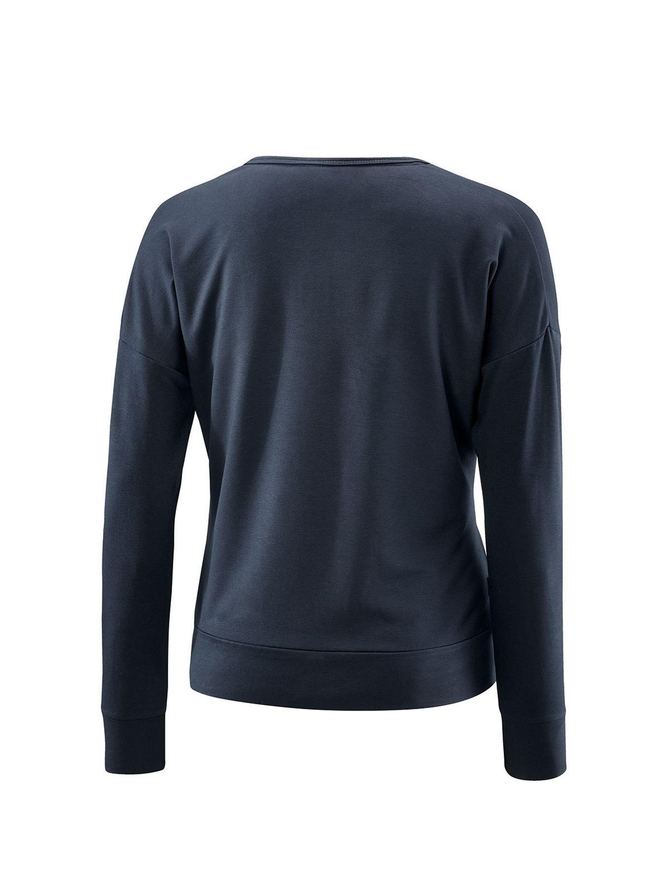 Joy - Damen Langarmshirt in Night blue, Zenia (34485 A) – Bild 3