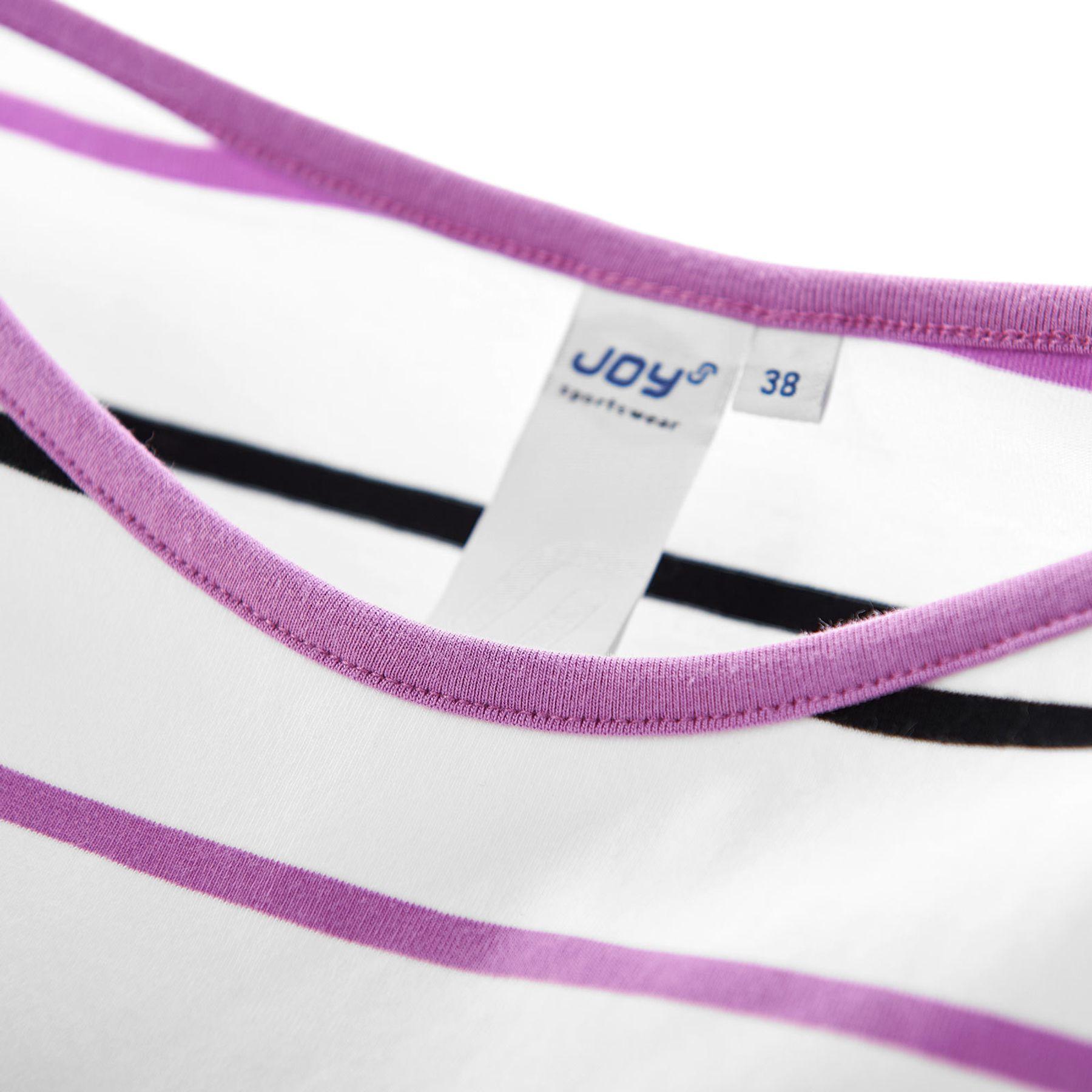 Joy - Balance Damen T-Shirt mit Rundhalsausschnitt, gestreift, Alessandra (30204A) – Bild 3