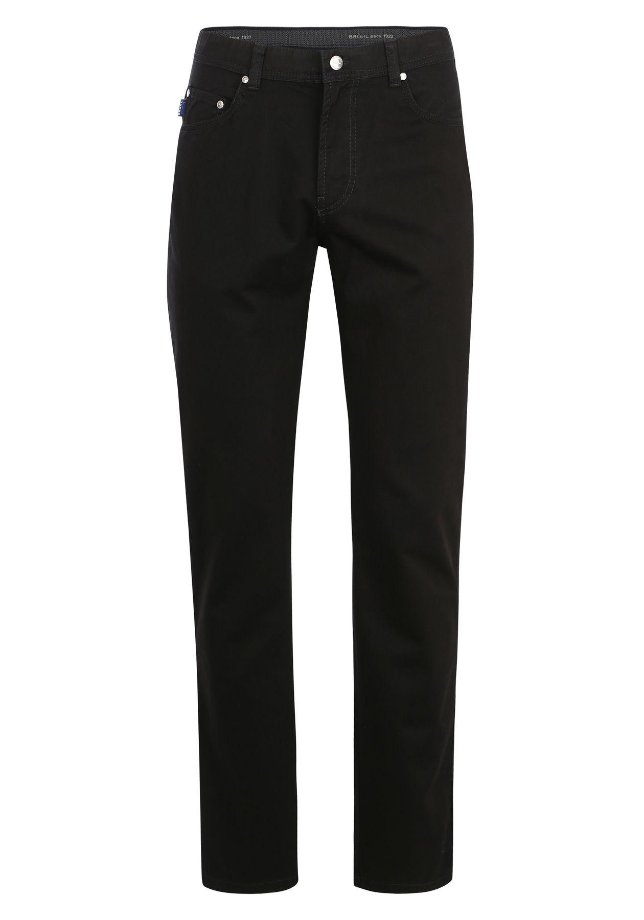 Brühl - Herren 5-Pocket Baumwollhose in blau oder schwarz, Genua 3 (0534182700100) – Bild 3