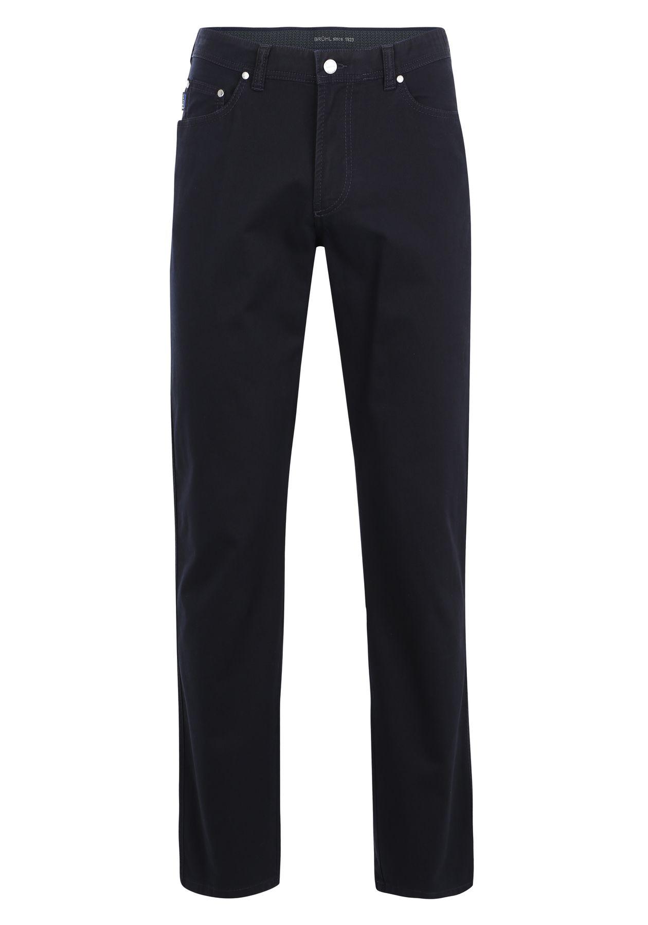 Brühl - Herren 5-Pocket Baumwollhose in blau oder schwarz, Genua 3 (0534182700100) – Bild 1