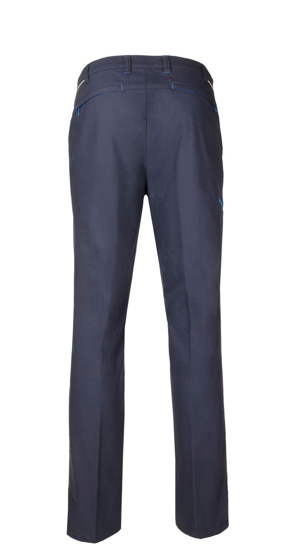 "Brühl - Herren 5-Pocket ,,Active Pants"" Hose in blau, Ravenna (0589183070100) – Bild 2"