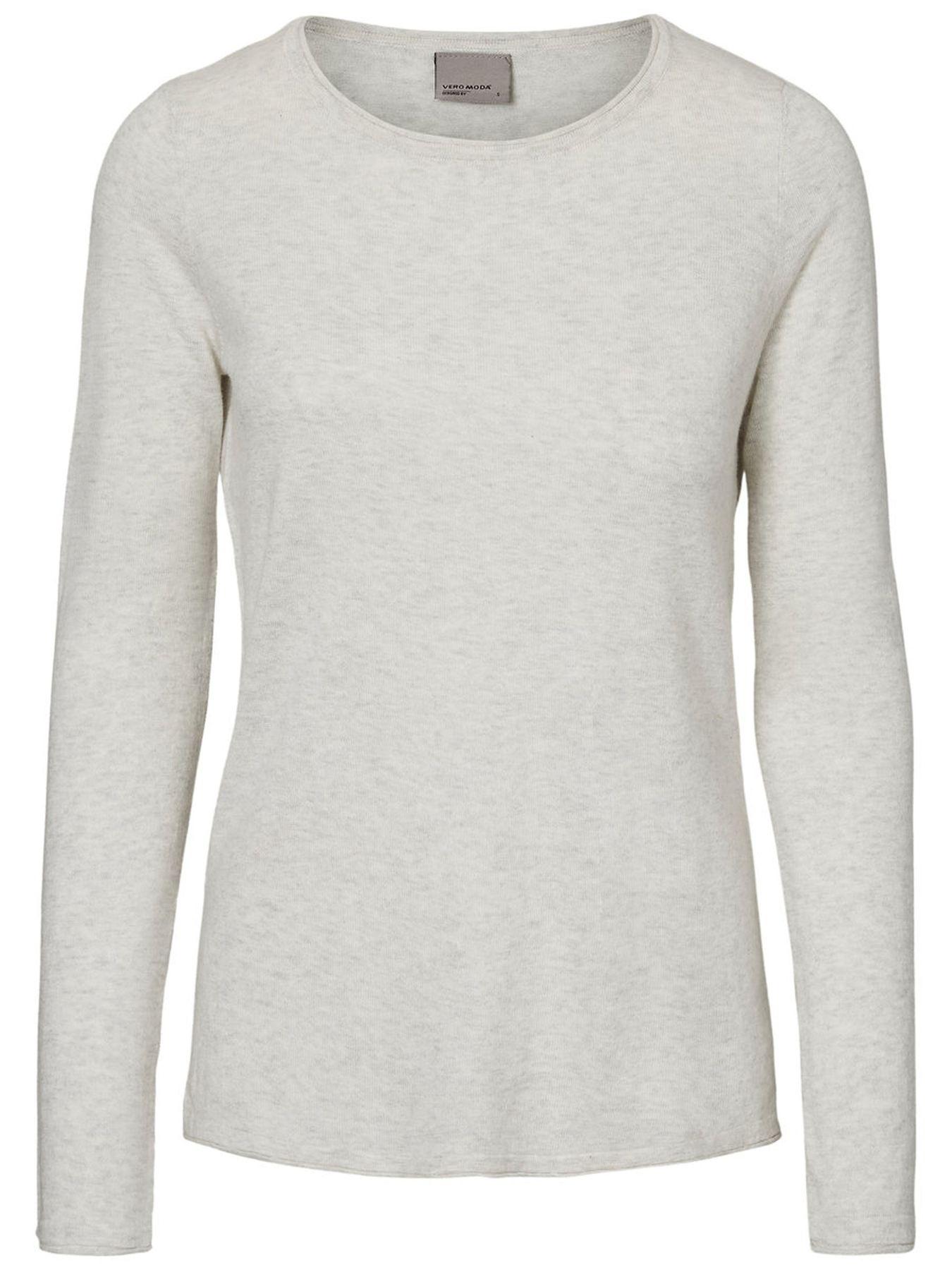 VERO MODA - Damen Shirt in grey oder navy (10181871) – Bild 4