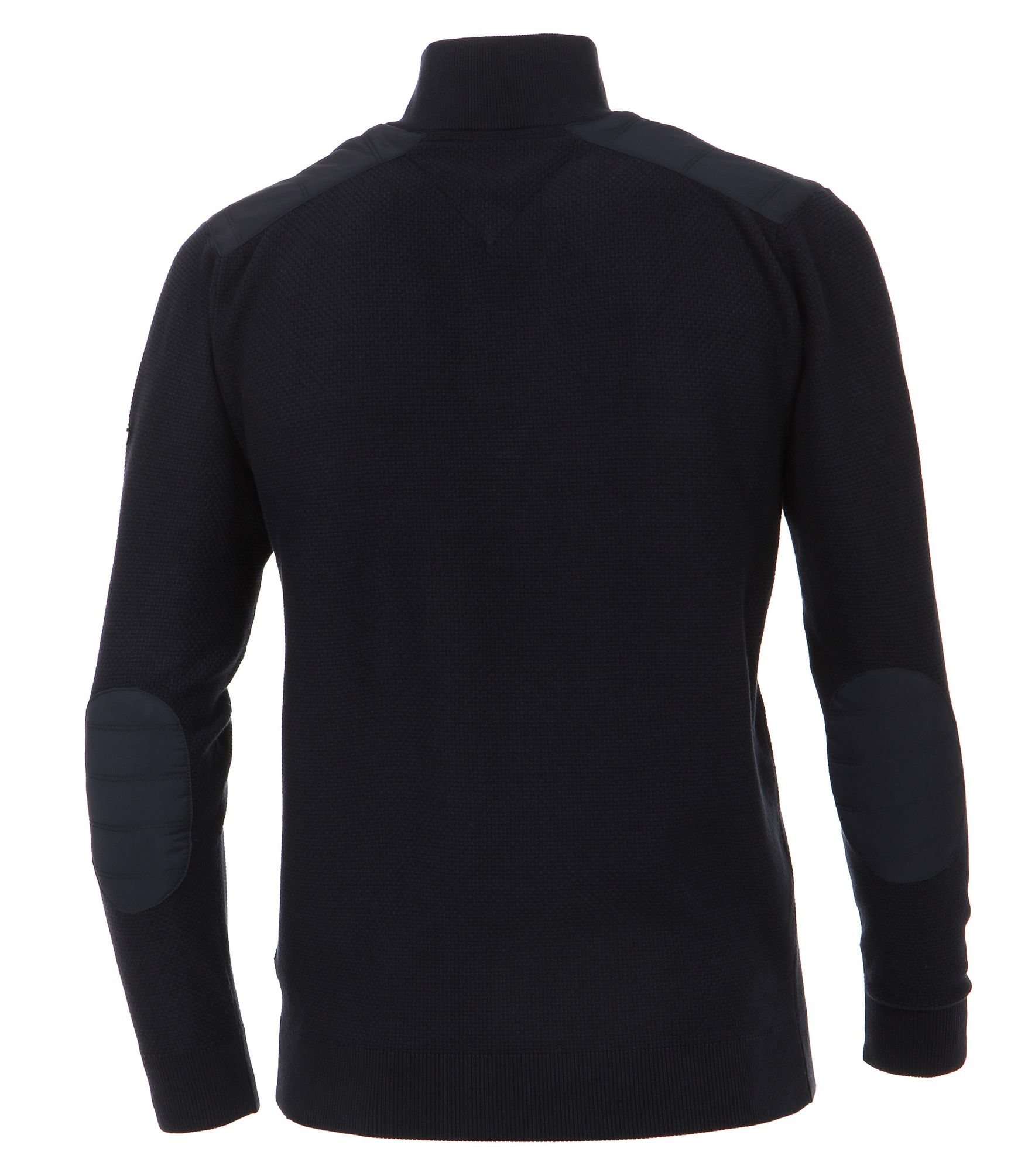 new product be08e 2964d Casa Moda - Herren Sweat-Troyer mit Stehkragen in Blau aus 100% Baumwolle  (472779800A)