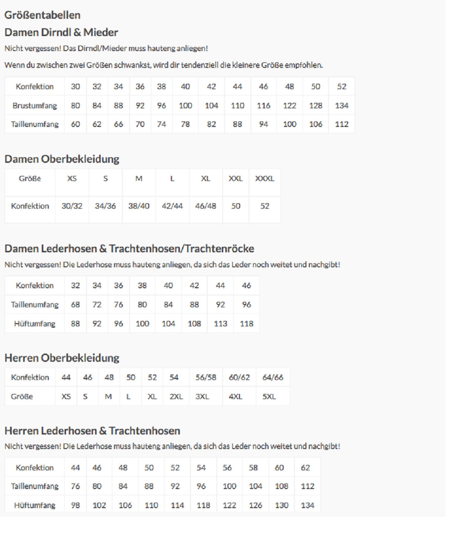 Krüger - Herren Lederhose in braun, Kraftbursche (94636-7) – Bild 7