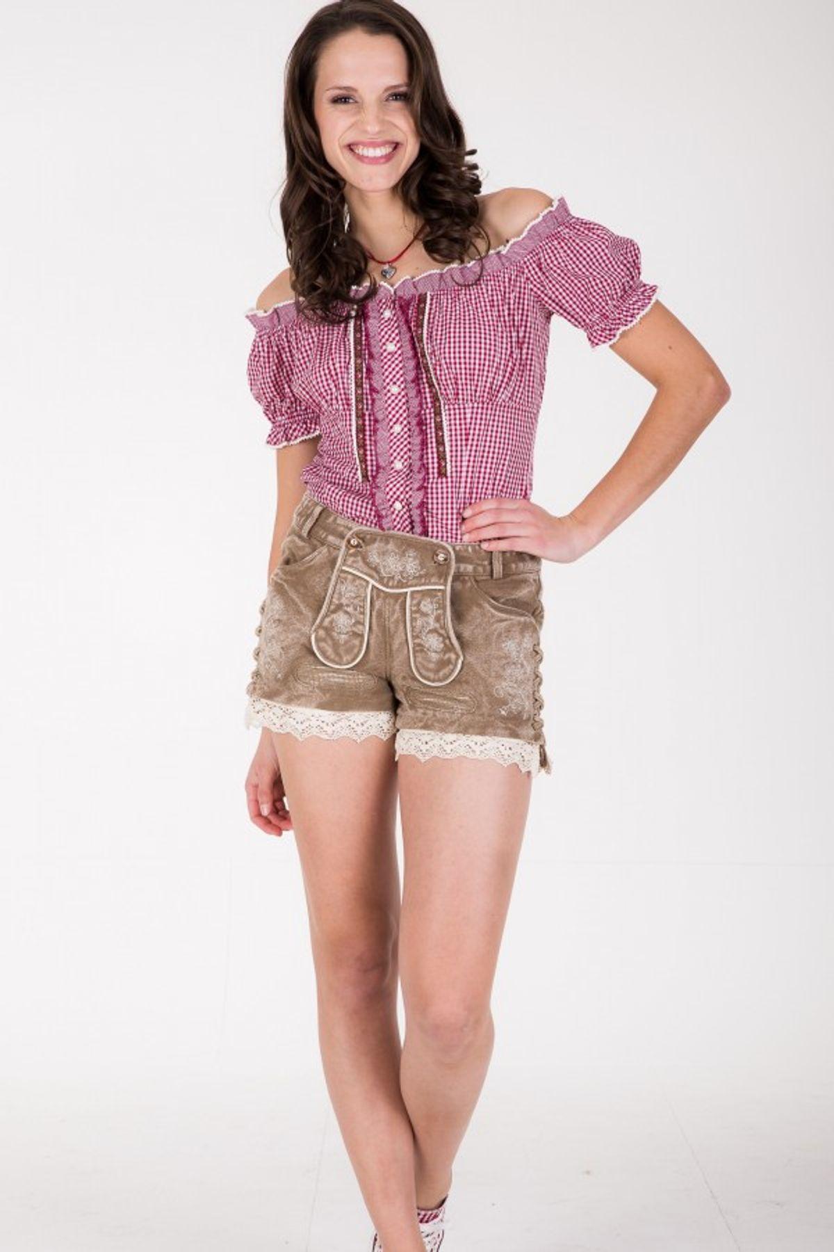 Krüger - Damen Trachtenhose in braun, Textilhose Beauty (33305-715) – Bild 2