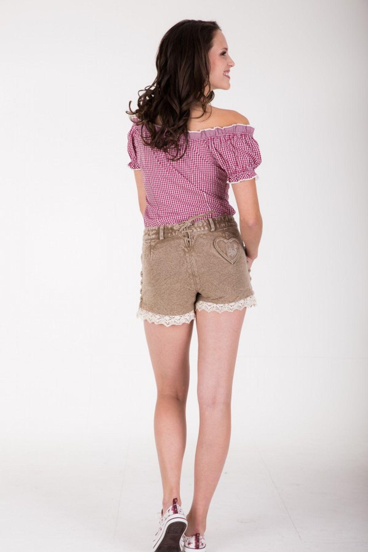 Krüger - Damen Trachtenhose in braun, Textilhose Beauty (33305-715) – Bild 5