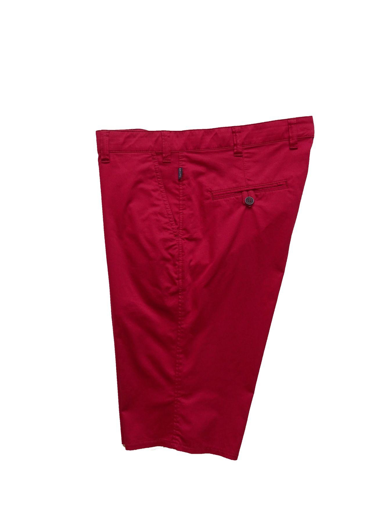 Brühl - Herren Shorts aus Baumwolle in rot, Venice Short (0622181690100 ) – Bild 3