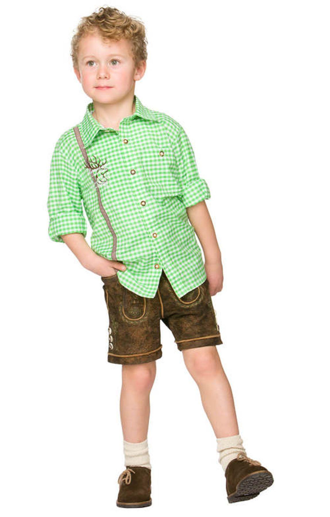 Stockerpoint - Kinder Trachten Hemd Leo, Gr. 86-116 – Bild 4