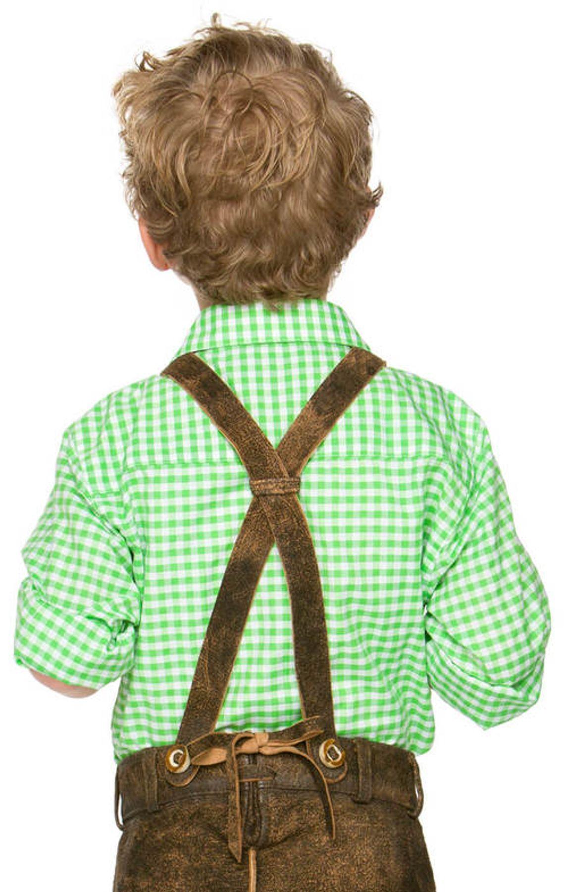 Stockerpoint - Kinder Trachten Hemd Leo, Gr. 122-152 – Bild 3